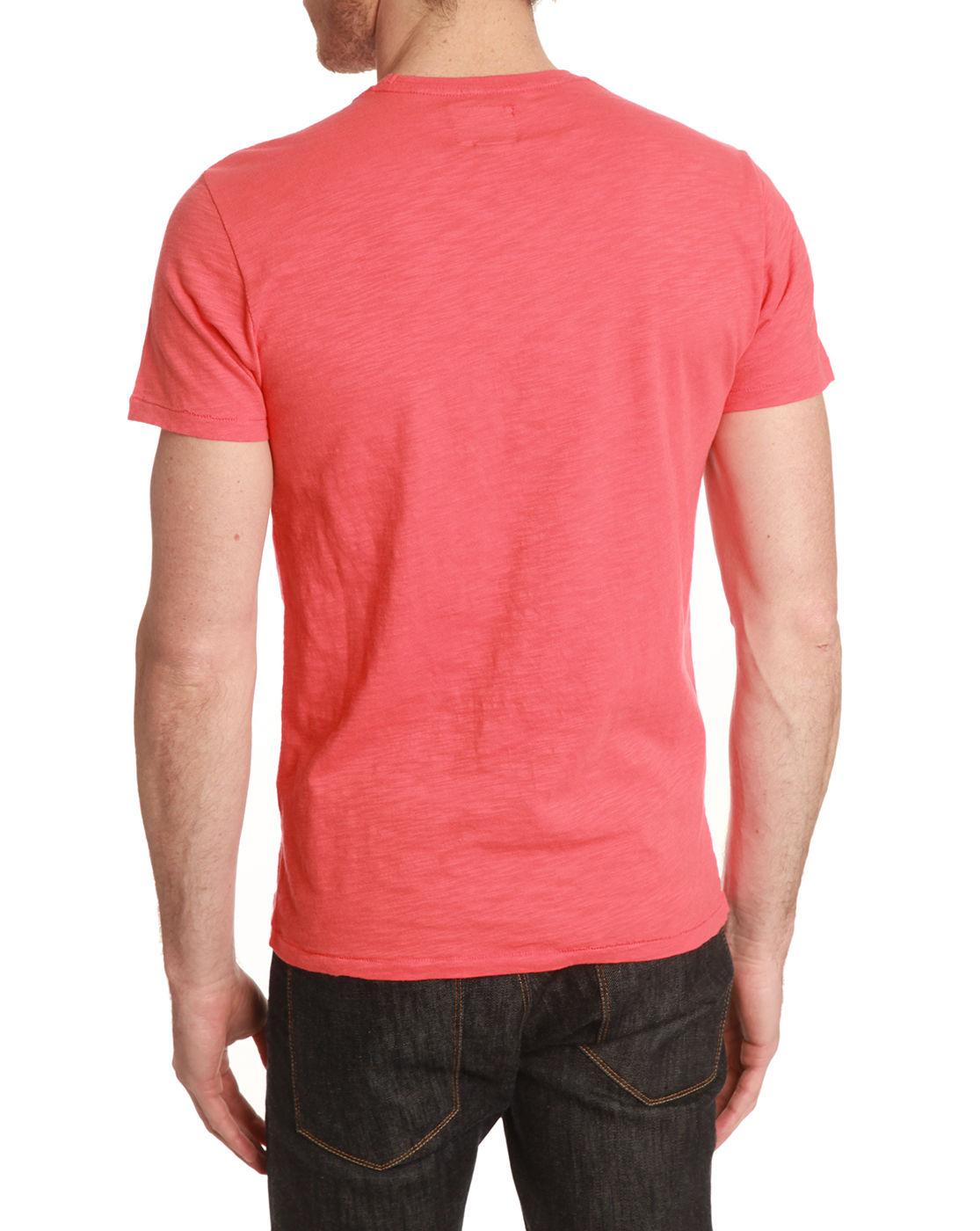 Woolrich Kauai Coral T Shirt In Orange For Men Coral Lyst