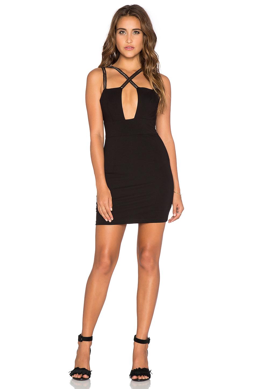 Lyst Wyldr Work It Bodycon Dress In Black