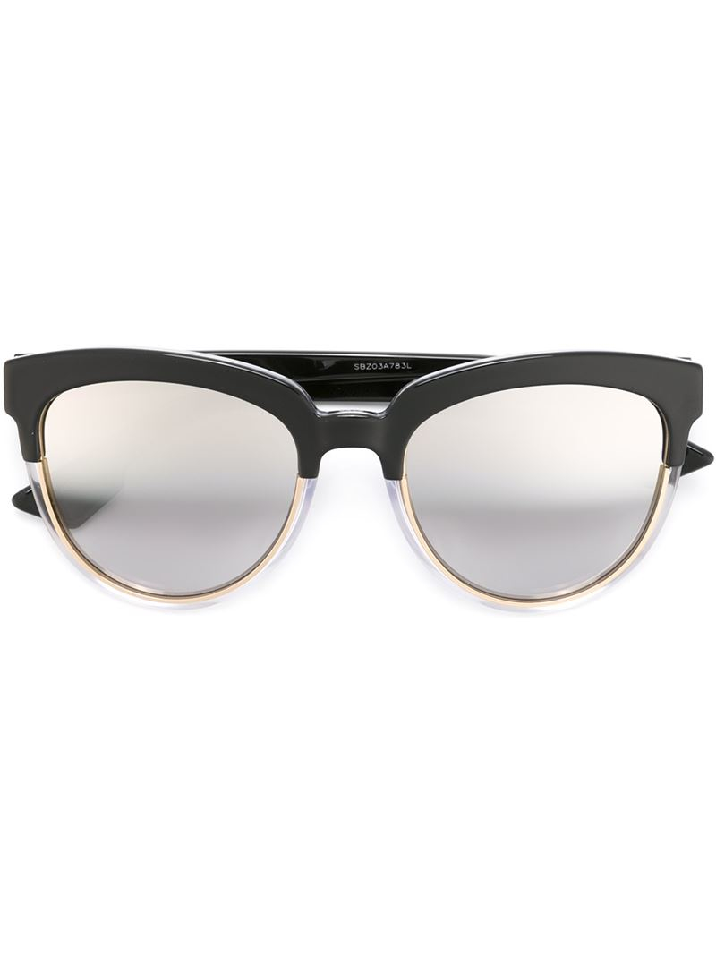 5d0efd31869 Lyst - Dior  sight 1  Sunglasses in Black