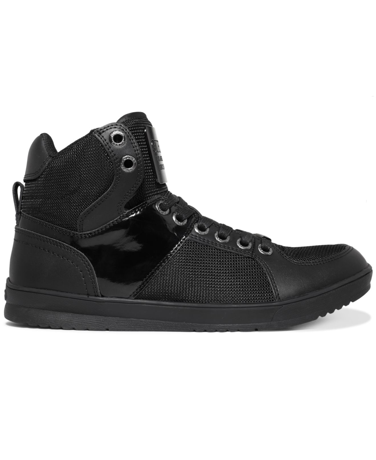 lyst guess trippy5 sneakers in black for men