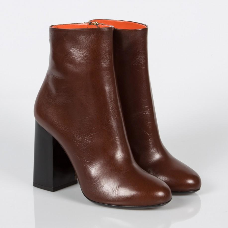 paul smith s brown leather and snakeskin eileen