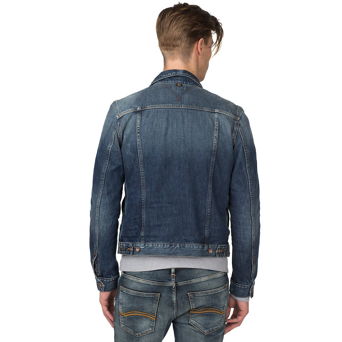 Tommy hilfiger Iggy Denim Jacket in Blue for Men | Lyst
