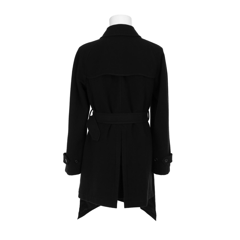 comme des gar ons homme plus trench coat in black for men. Black Bedroom Furniture Sets. Home Design Ideas