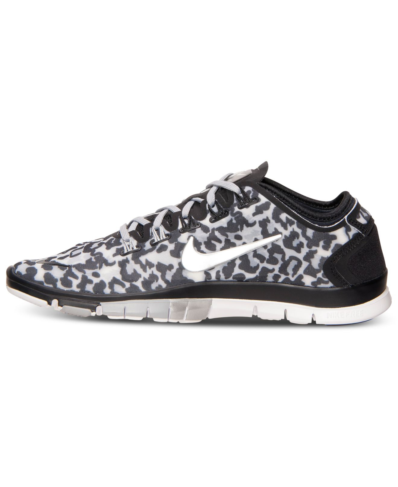 super popular c7503 64d29 Nike Women s Free Tr Connect 2 Training Sneakers From Finish Line in Gray -  Lyst