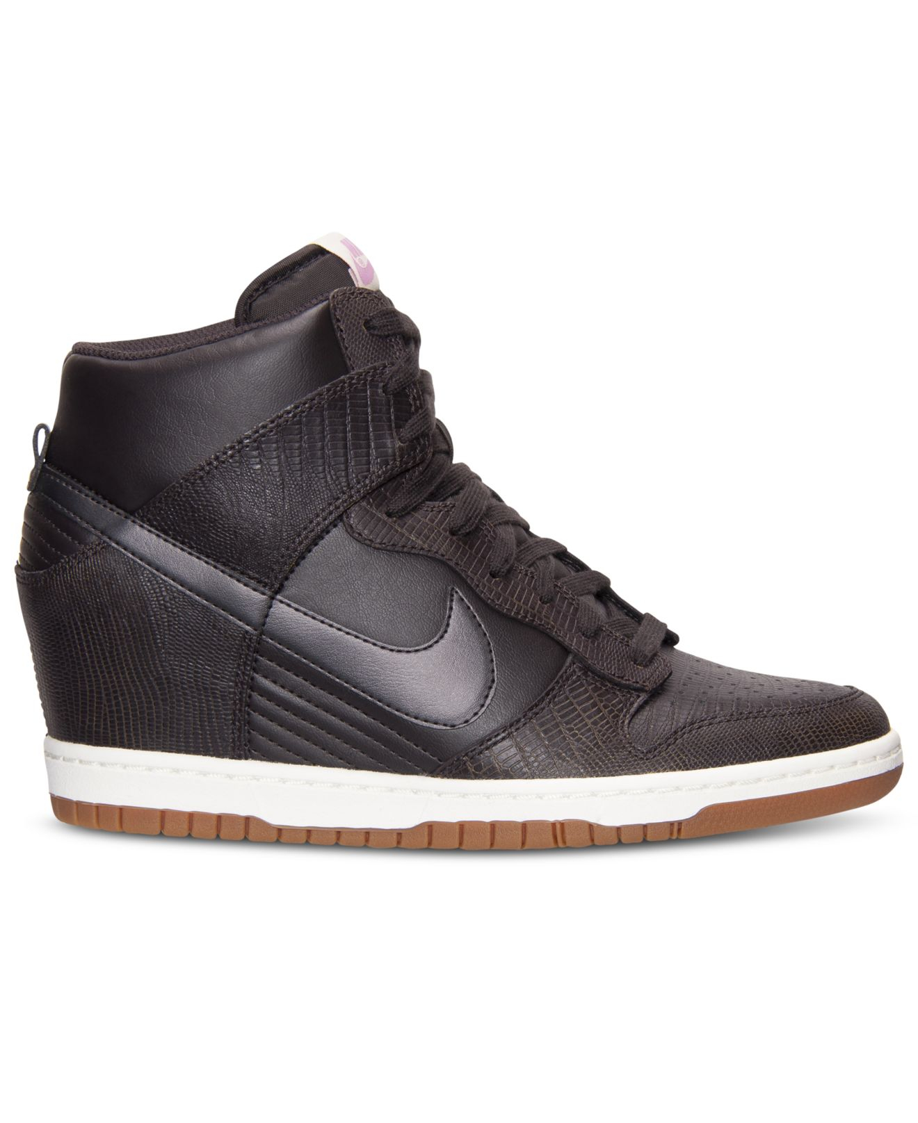 the best attitude c04cb 535cd Lyst - Nike Women S Dunk Sky Hi Casual Sneakers From Finish Line in ...