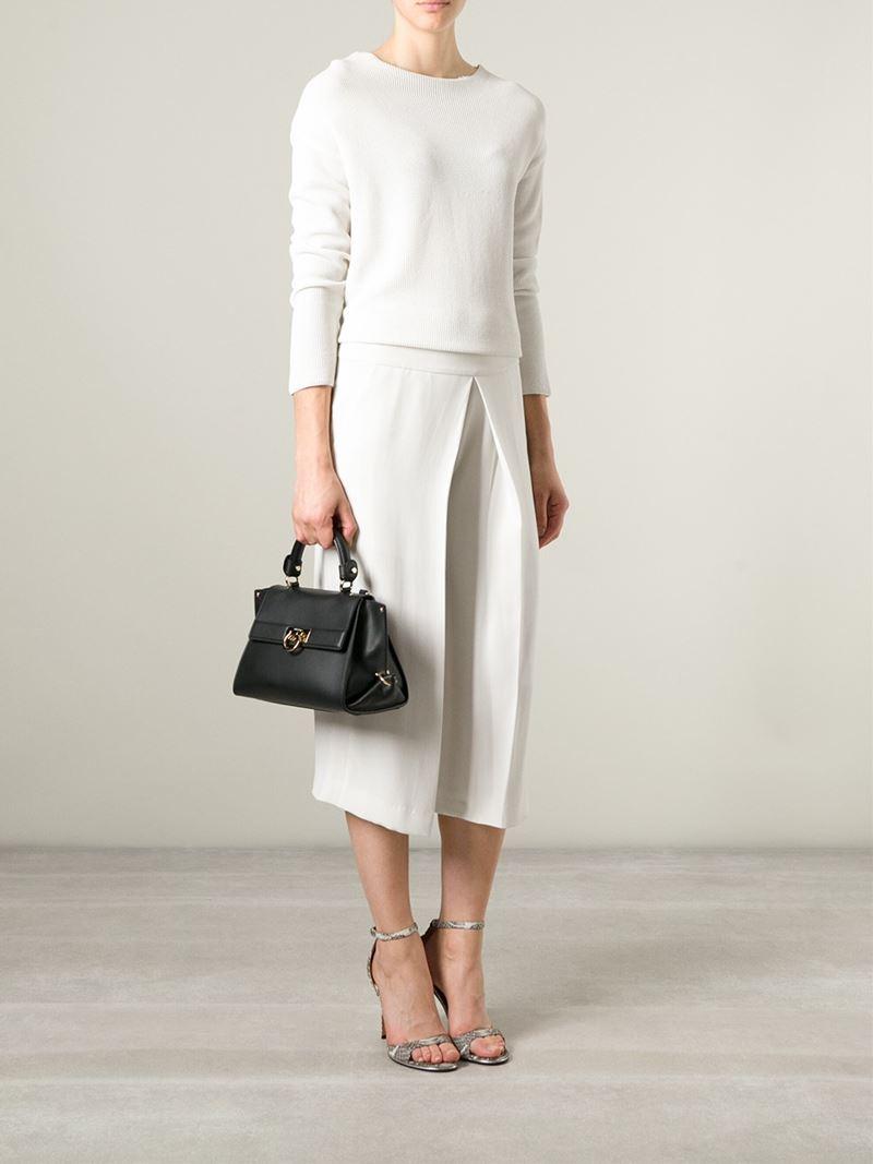 954a8a5c311 Lyst - Ferragamo  Sofia  Crossbody Bag in Black