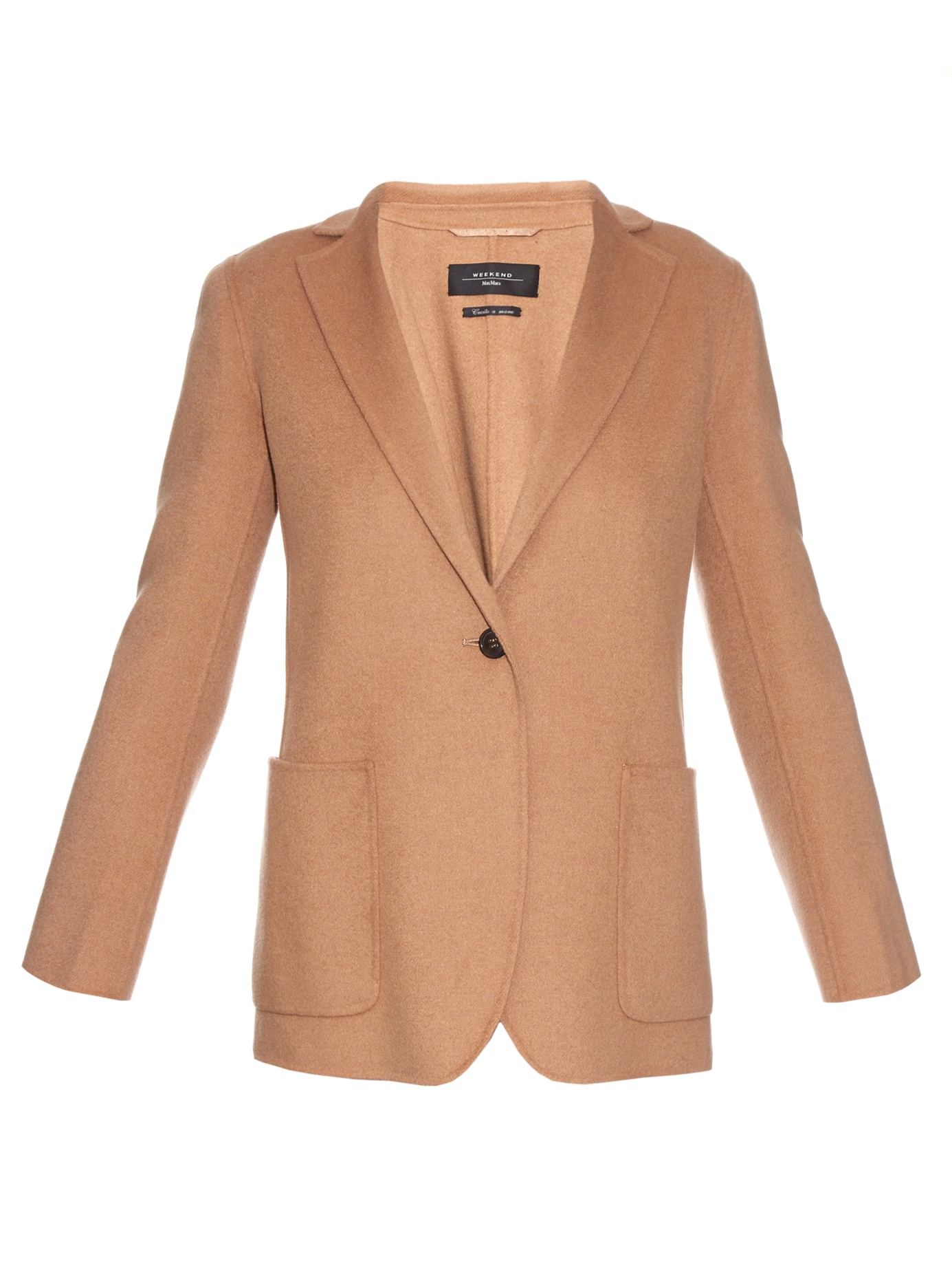 Weekend By Maxmara Clinton Jacket In Natural Lyst