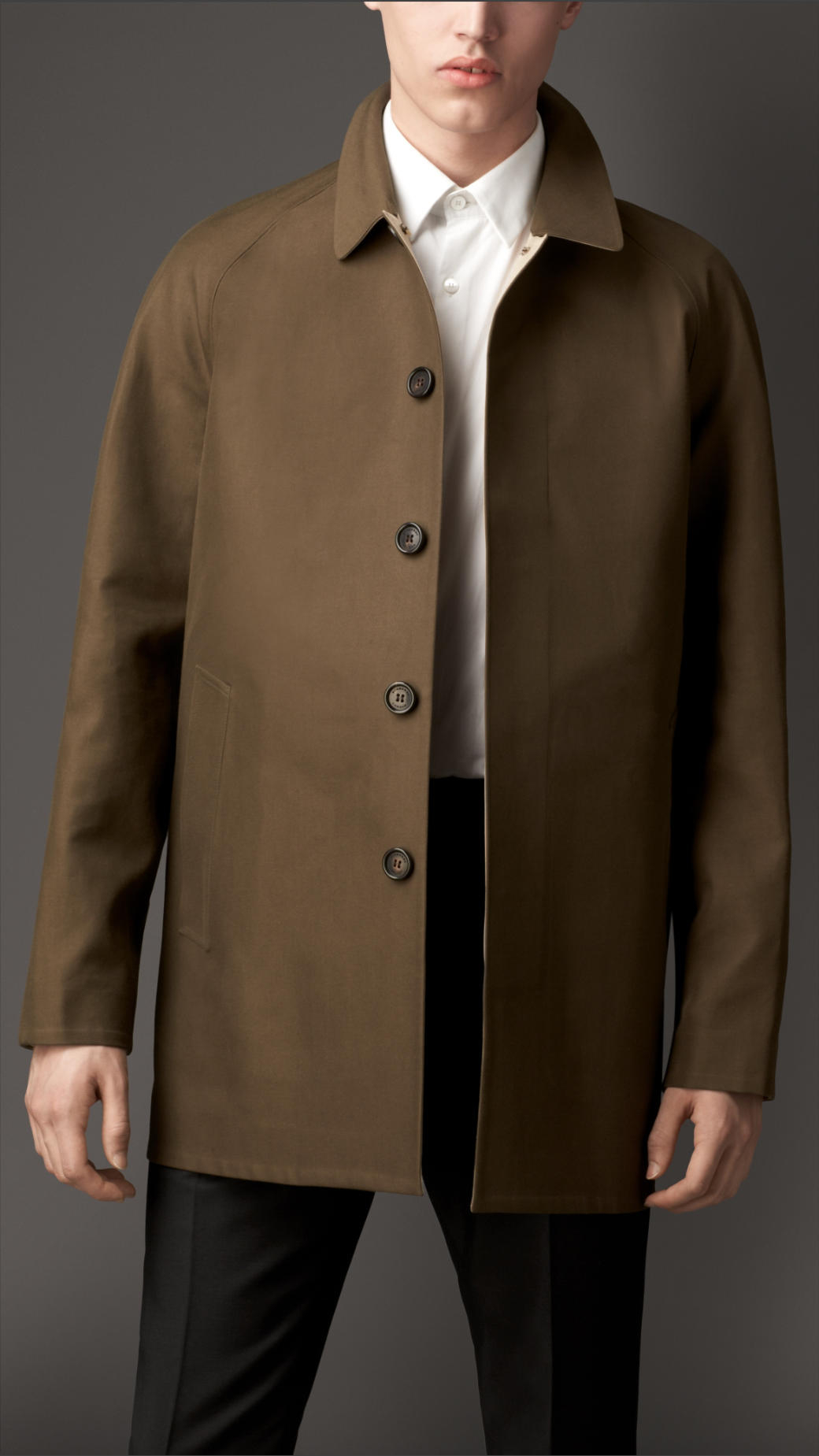 100  [ Mens Car Coat ] | London Fog Alden Wool Car Coat In Natural ...