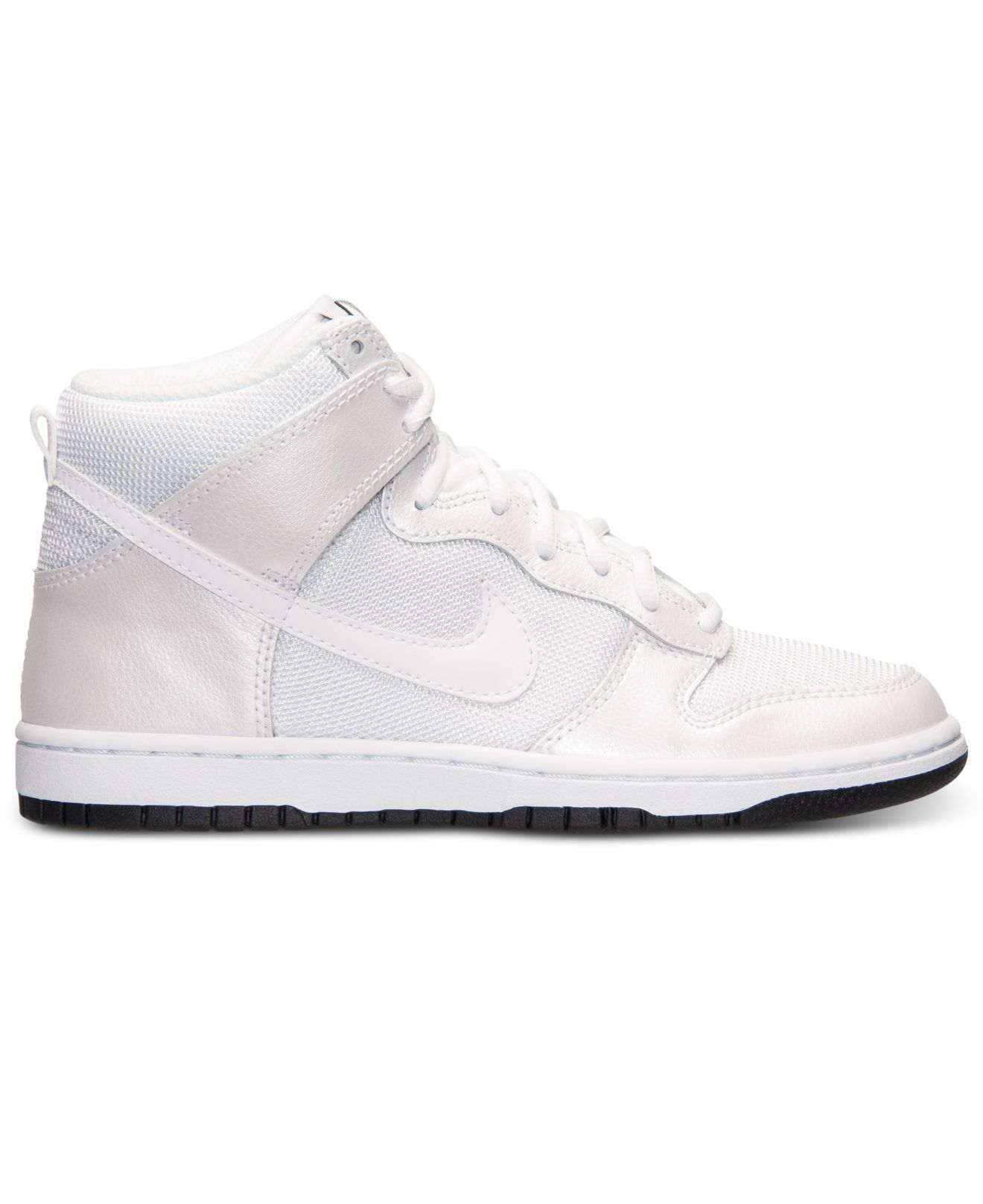 100% authentic b8f6a 2a4b2 Nike Women s Dunk High Skinny Casual Sneakers From Finish Line in ...