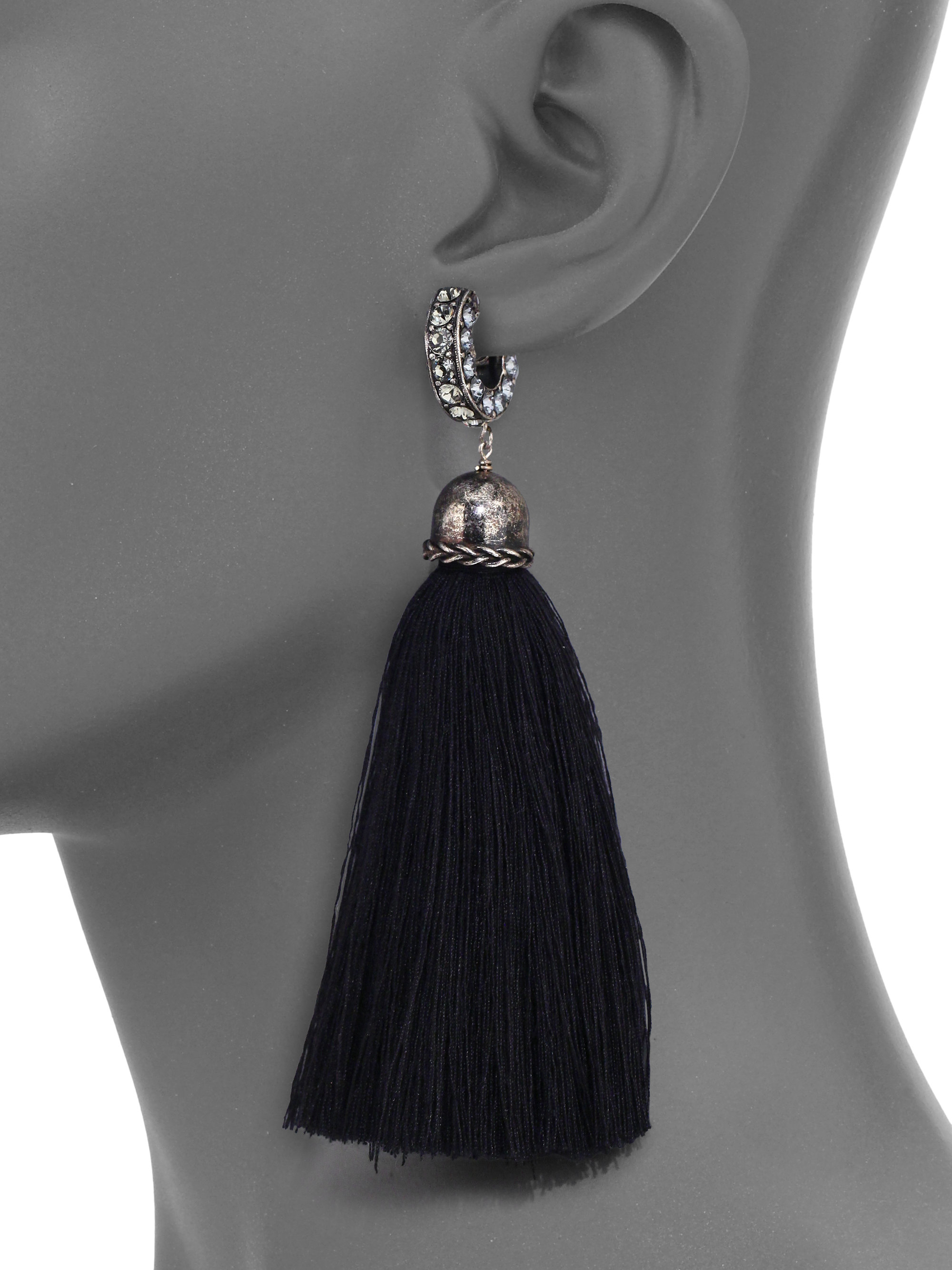 Lanvin Long Earrings With Clips HrpNL