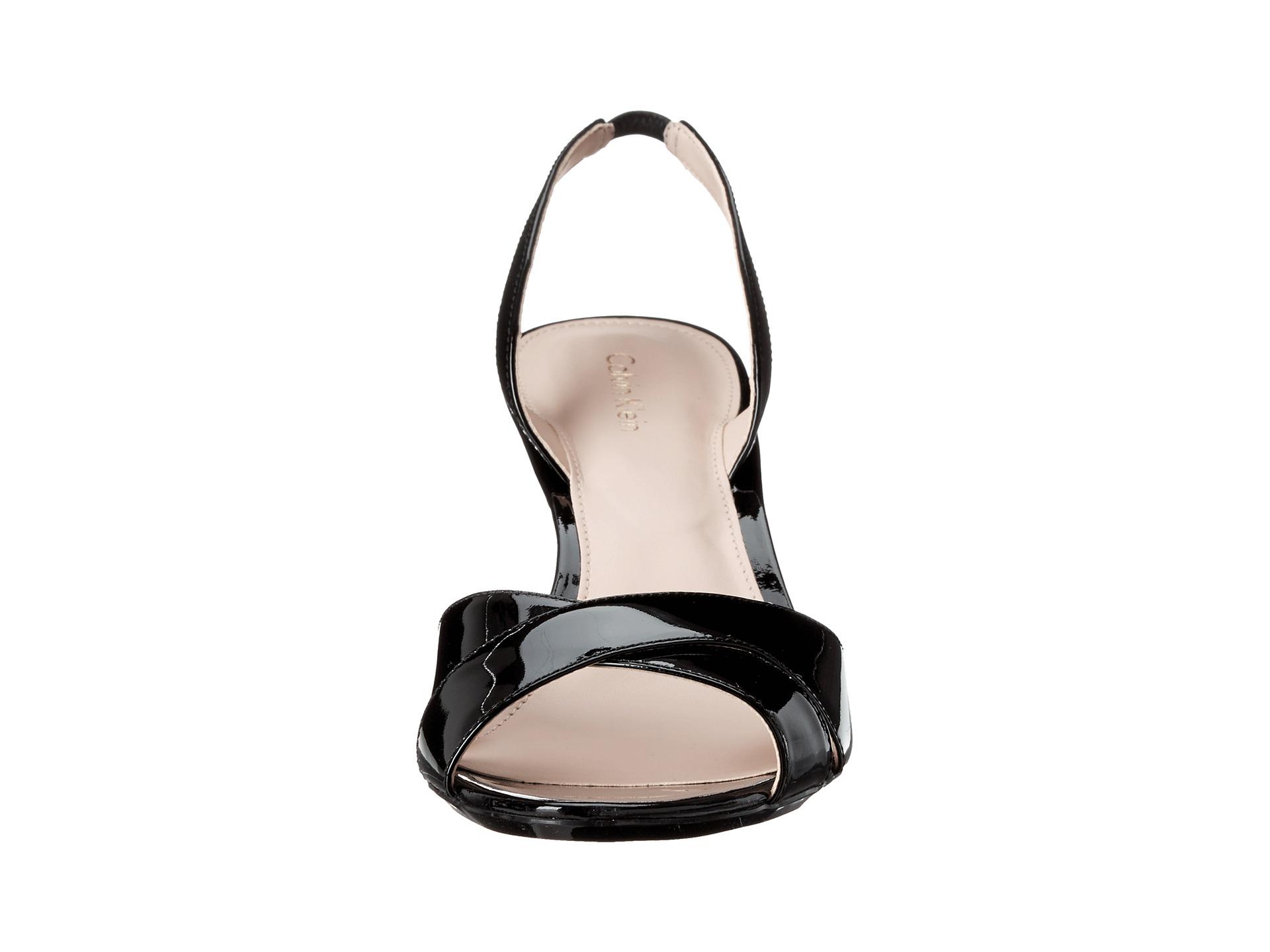 f7610ad45e6 Lyst - Calvin Klein Lucette in Black