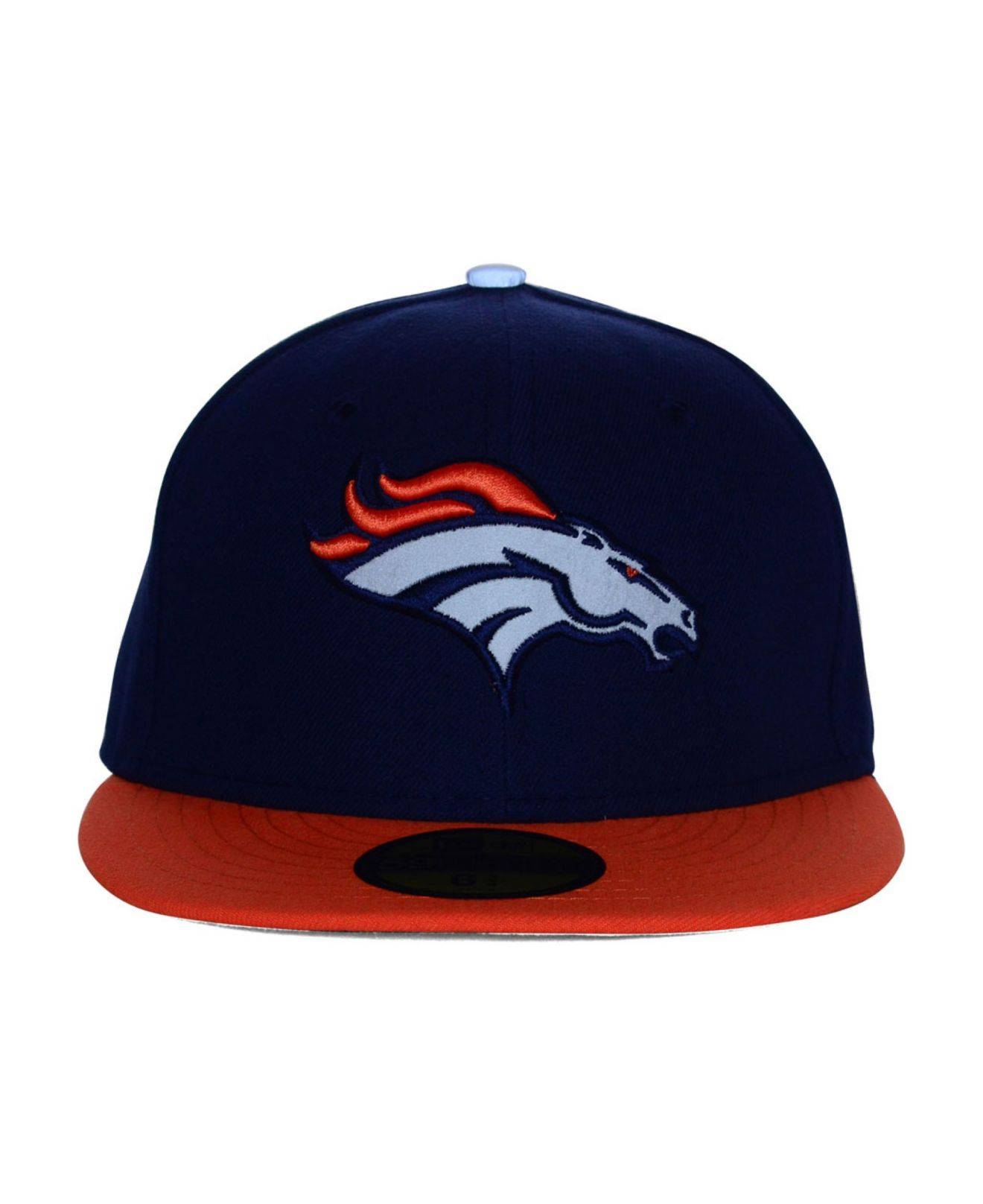 7478b0e7c Lyst - Ktz Denver Broncos Thanksgiving On Field Reflective 59Fifty ...