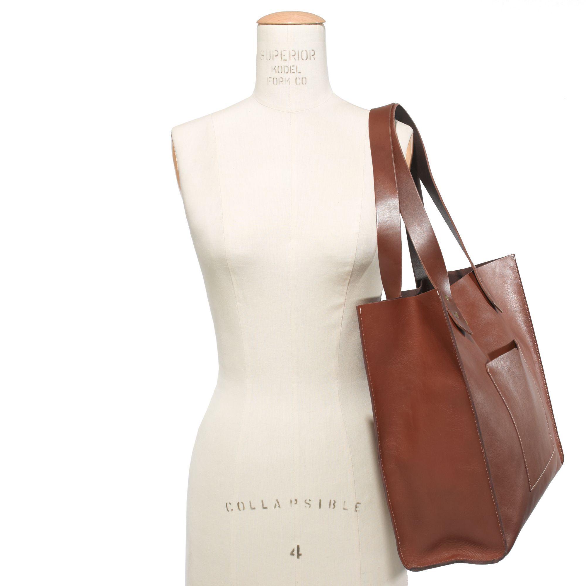26f11631c631 Lyst - Madewell The Oversized Berkeley Tote in Brown