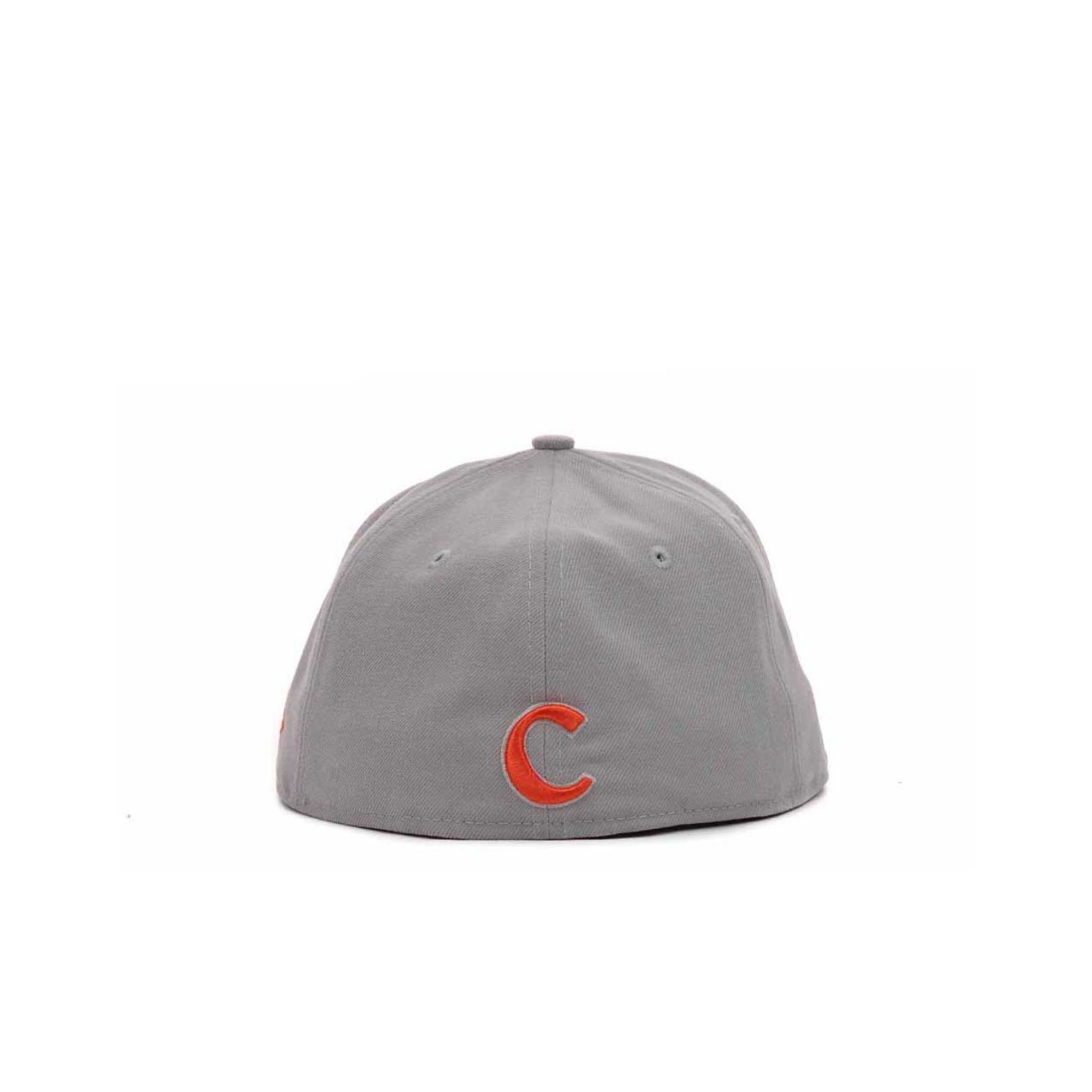 lowest price b0054 df744 ... greece lyst ktz clemson tigers high risk 59fifty cap in gray for men  a39d1 307cb