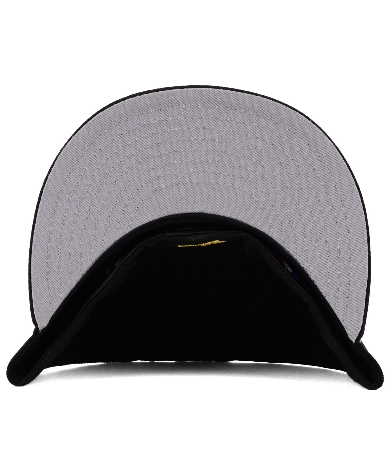 discount 40282 350ae ... closeout lyst ktz tampa bay rays gold 59fifty cap in black for men  90020 bb492