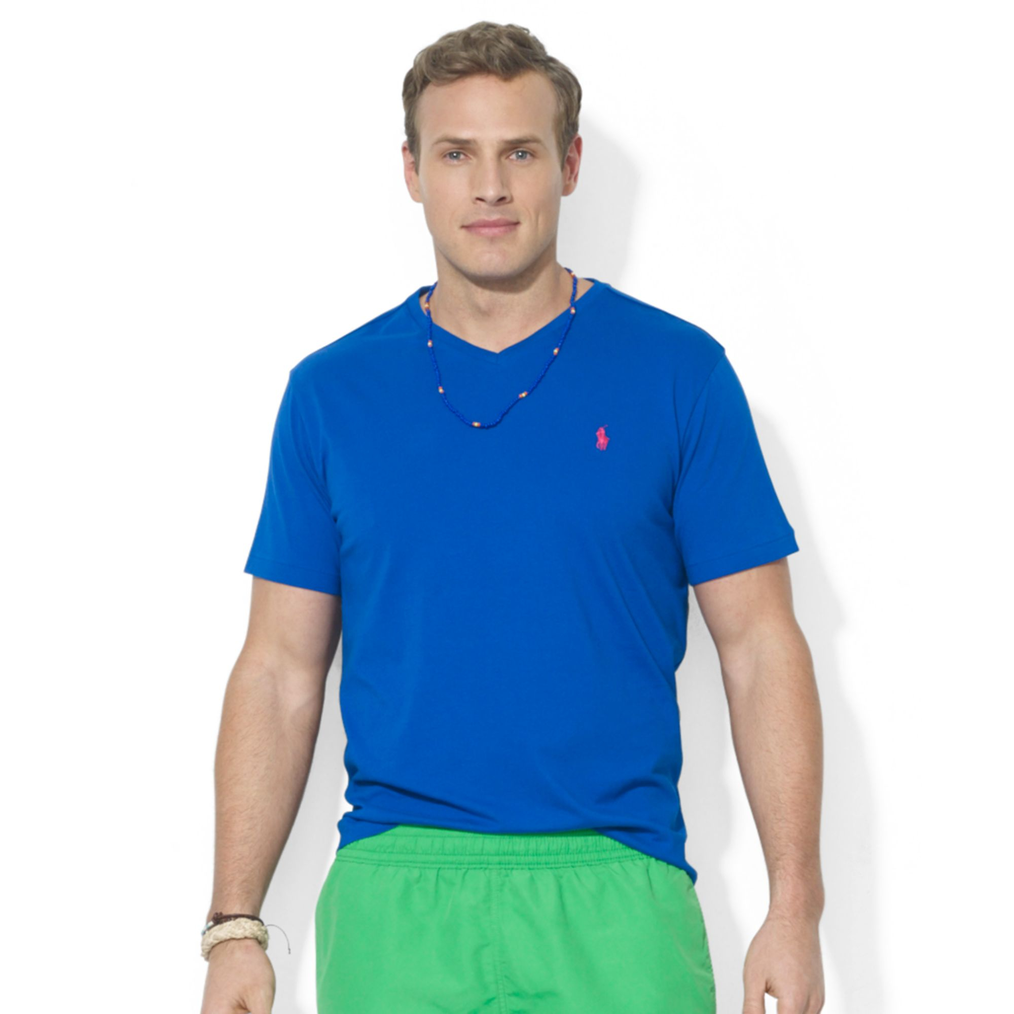 Polo Ralph Lauren Polo Big And Tall Classicfit Vneck