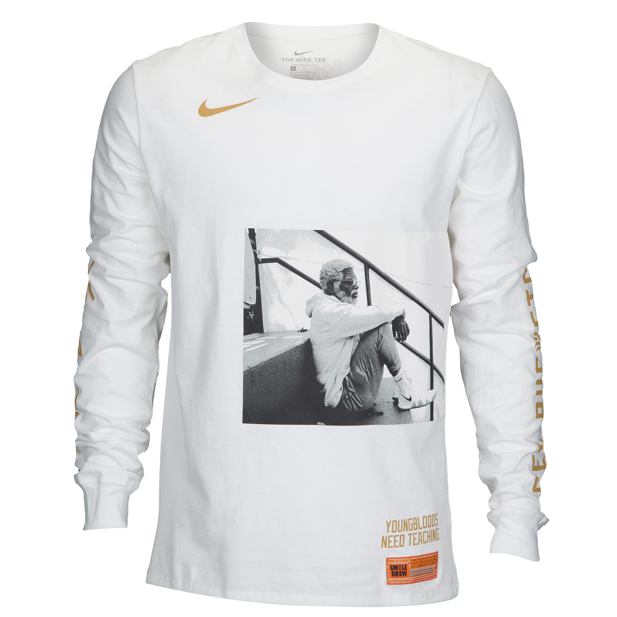 56879e92381 Nike Kyrie Irving Kyrie Uncle Drew L/s T-shirt in White for Men - Lyst