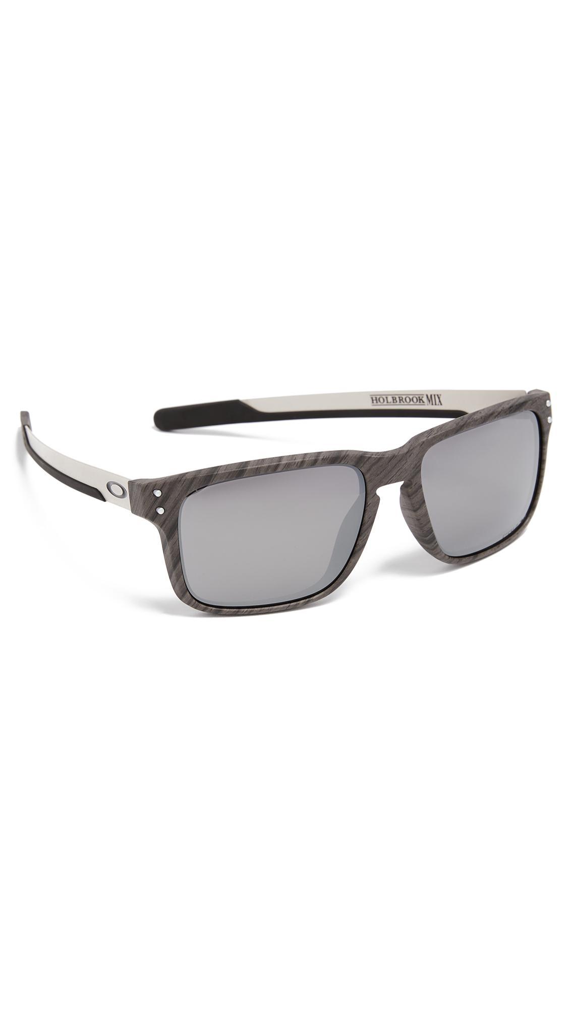 96b1021e3d ... new arrivals oakley holbrook woodgrain prizm sunglasses in metallic for  men lyst a8f16 8a0b5
