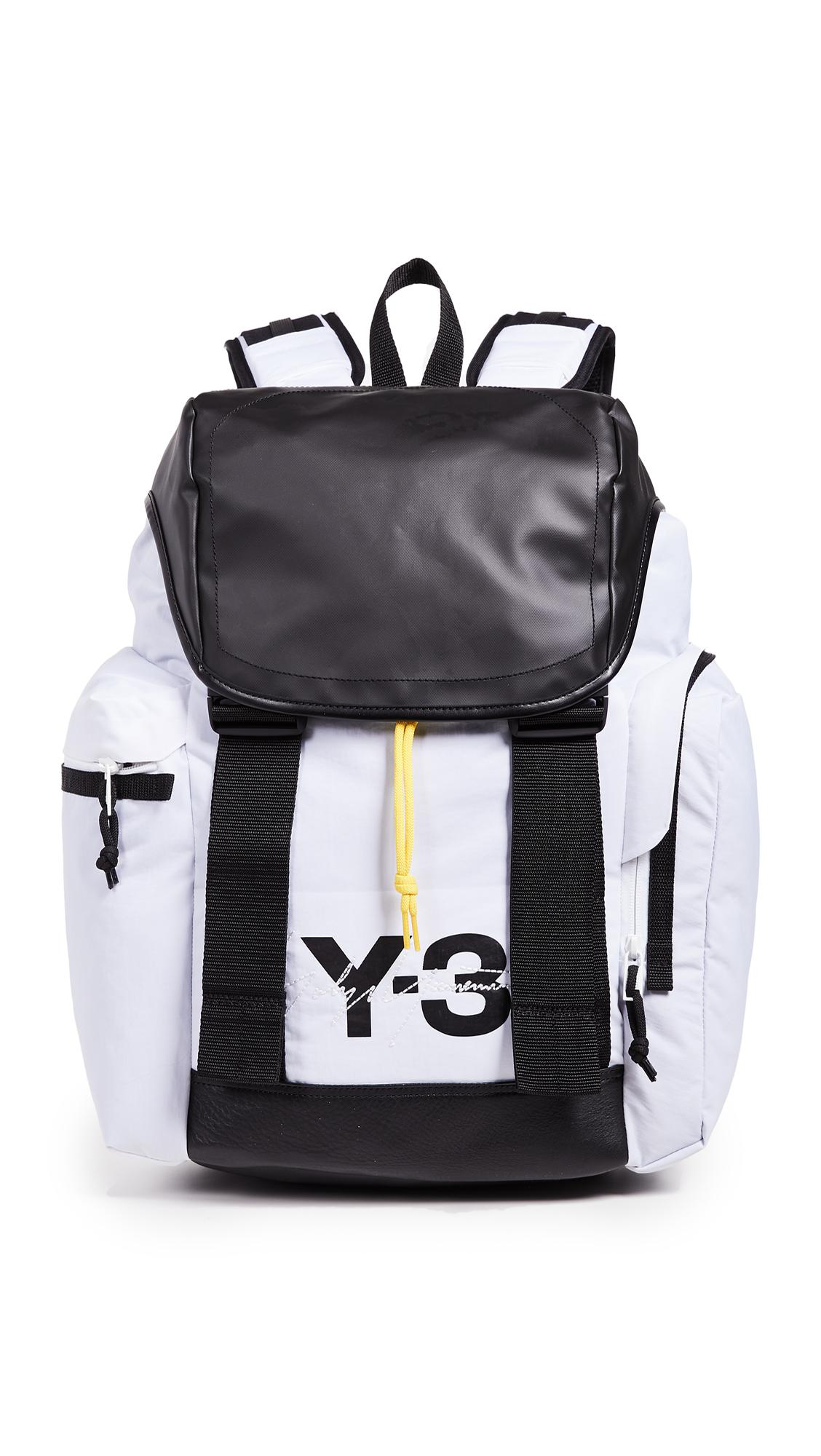Y-3 Mobility Backpack in Black for Men - Lyst 3907bacc2ad98