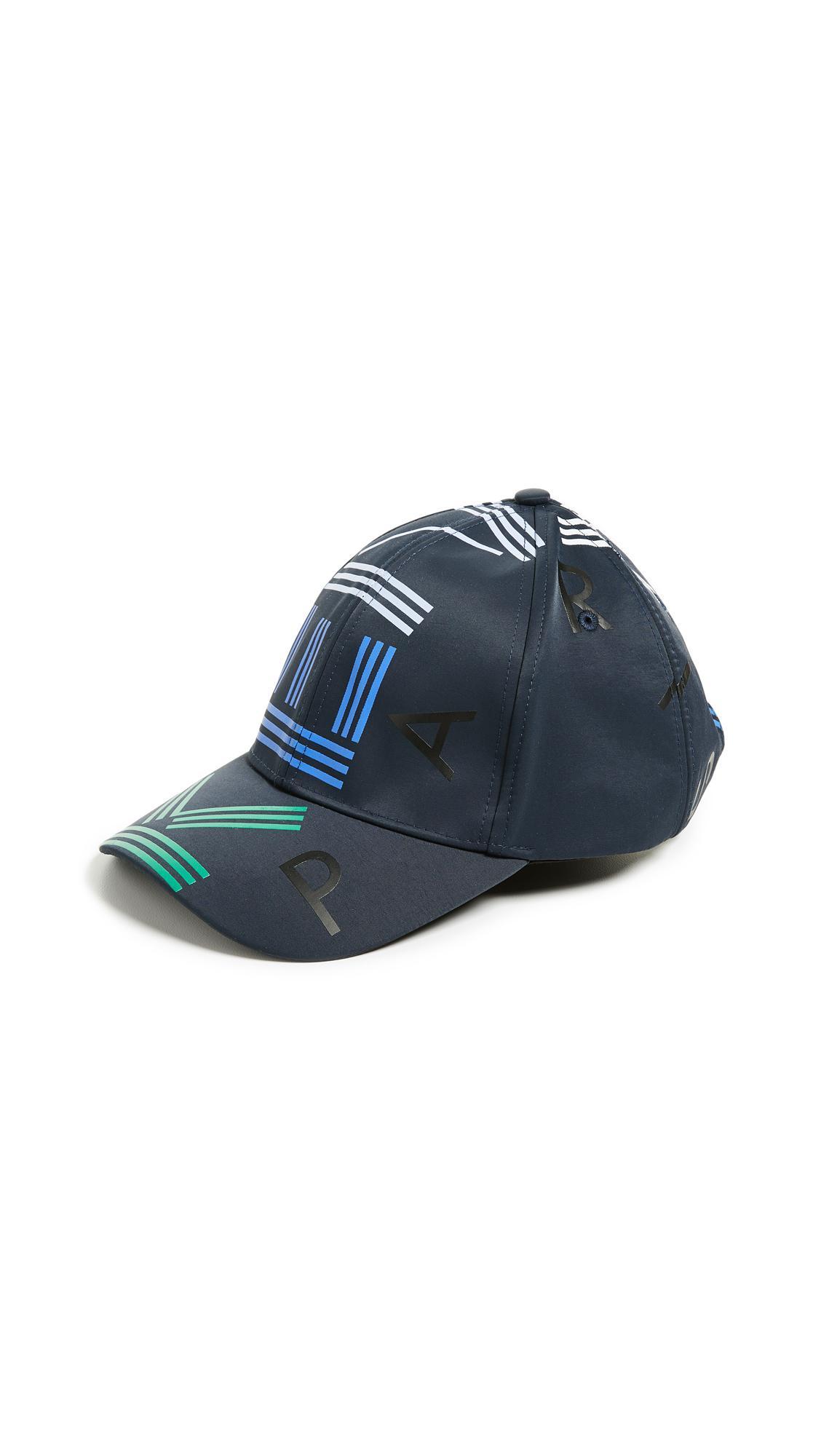 565fe23af47 KENZO - Blue Sport Hat for Men - Lyst. View fullscreen
