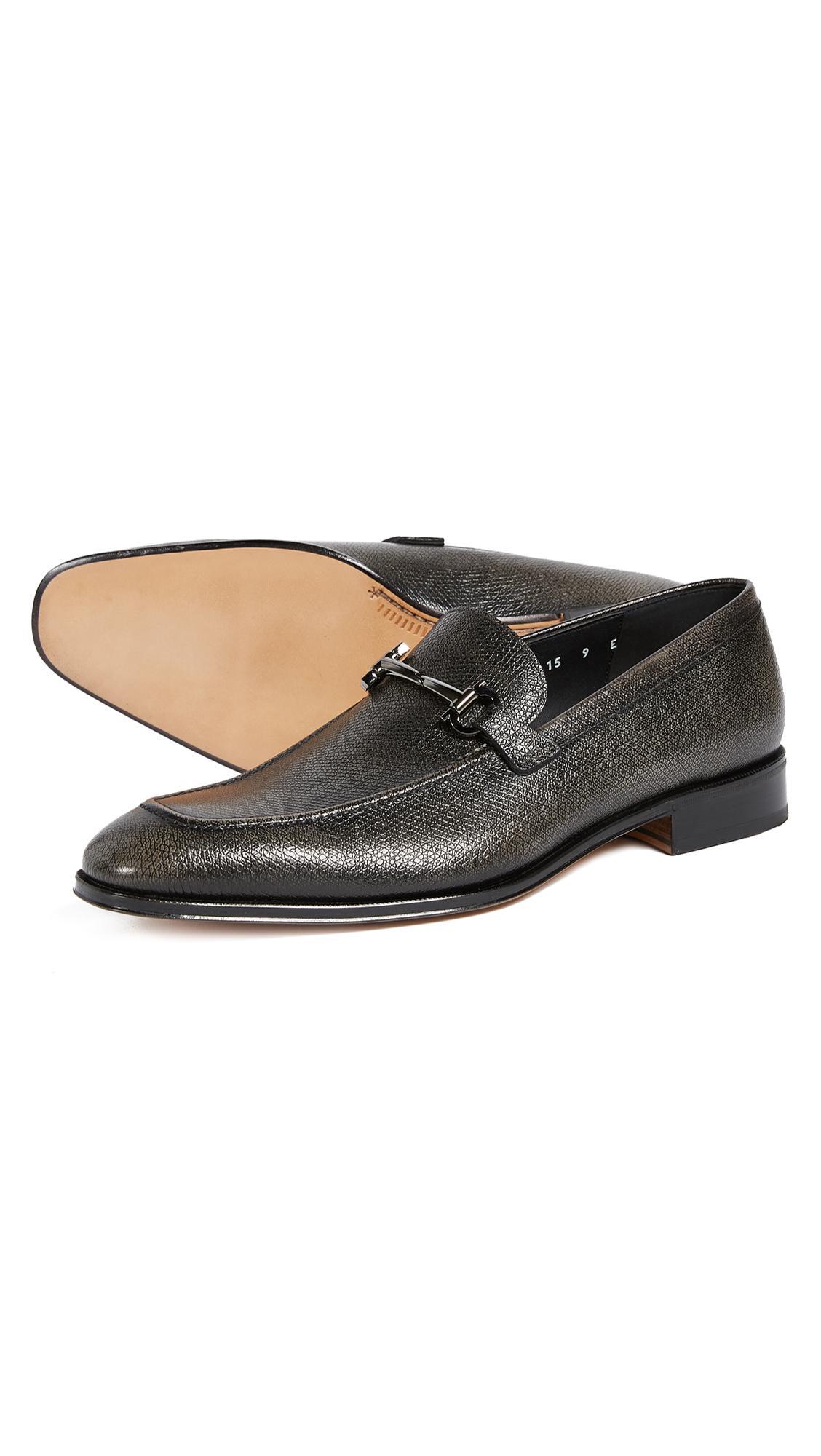 f16f39565cf Lyst - Ferragamo Fenice Bit Loafers in Black for Men