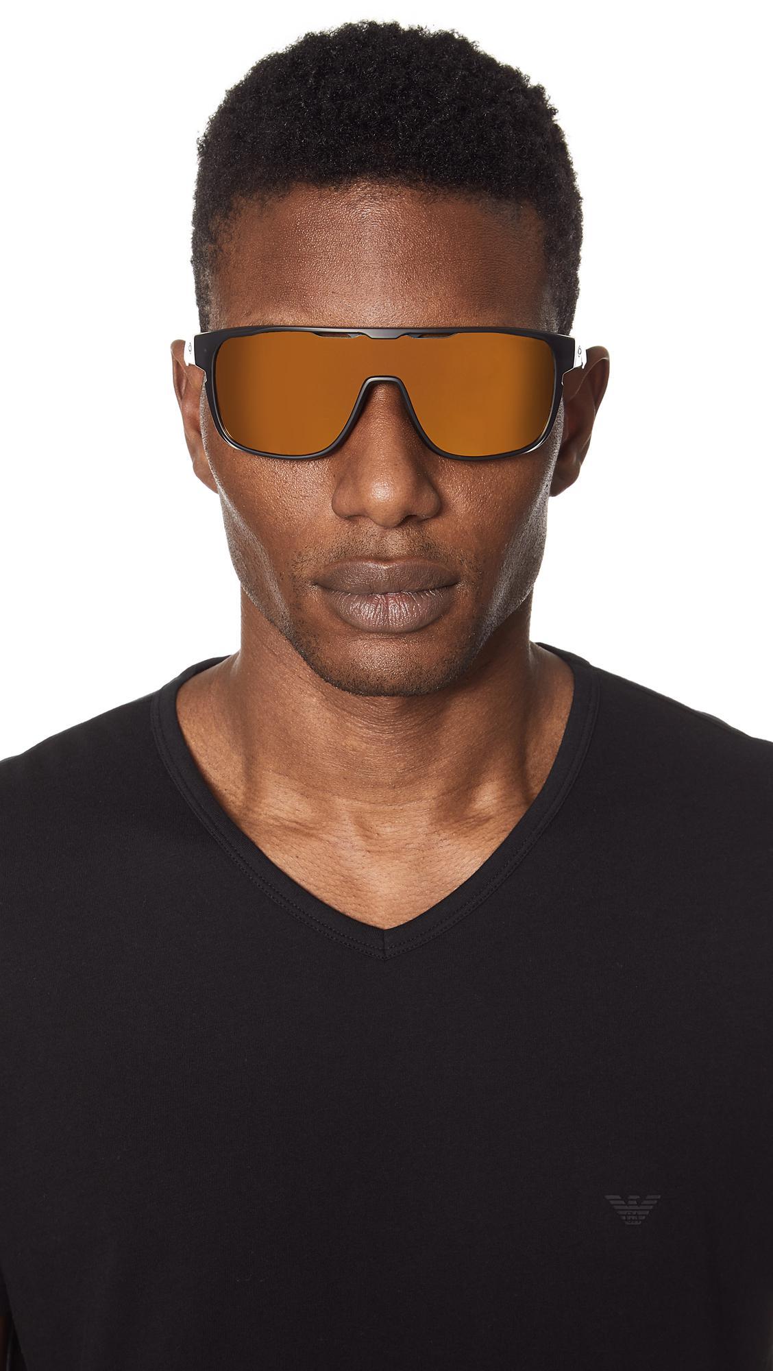 f8f5fdaa072 Lyst - Oakley Crossrange Shield Sunglasses in Black for Men