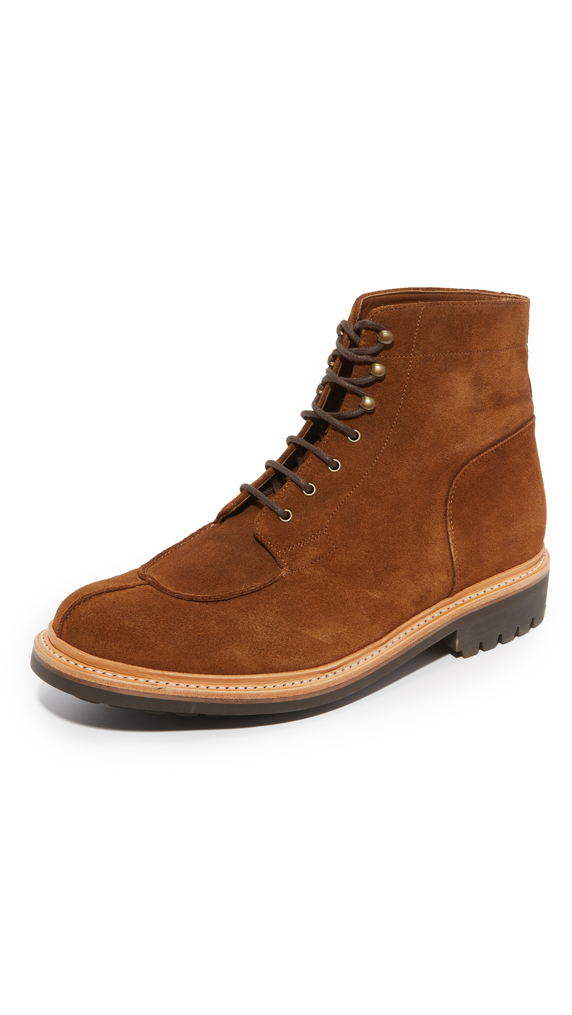 156784f41698 Lyst - Grenson Grover Suede Split Toe Boots for Men