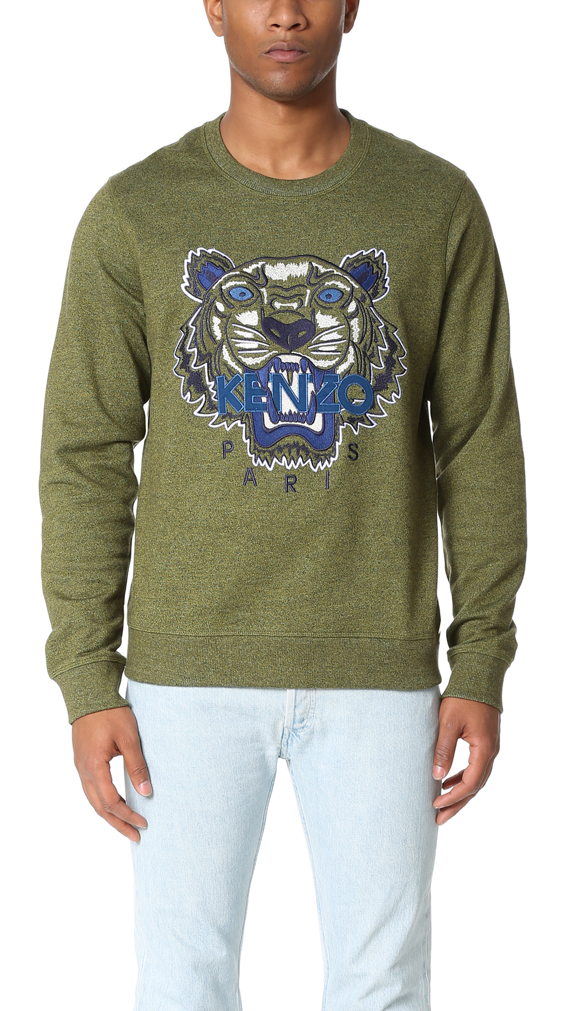 f779d026 Embroidered Lyst Kenzo For Men Sweatshirt Tiger HYDIWE92