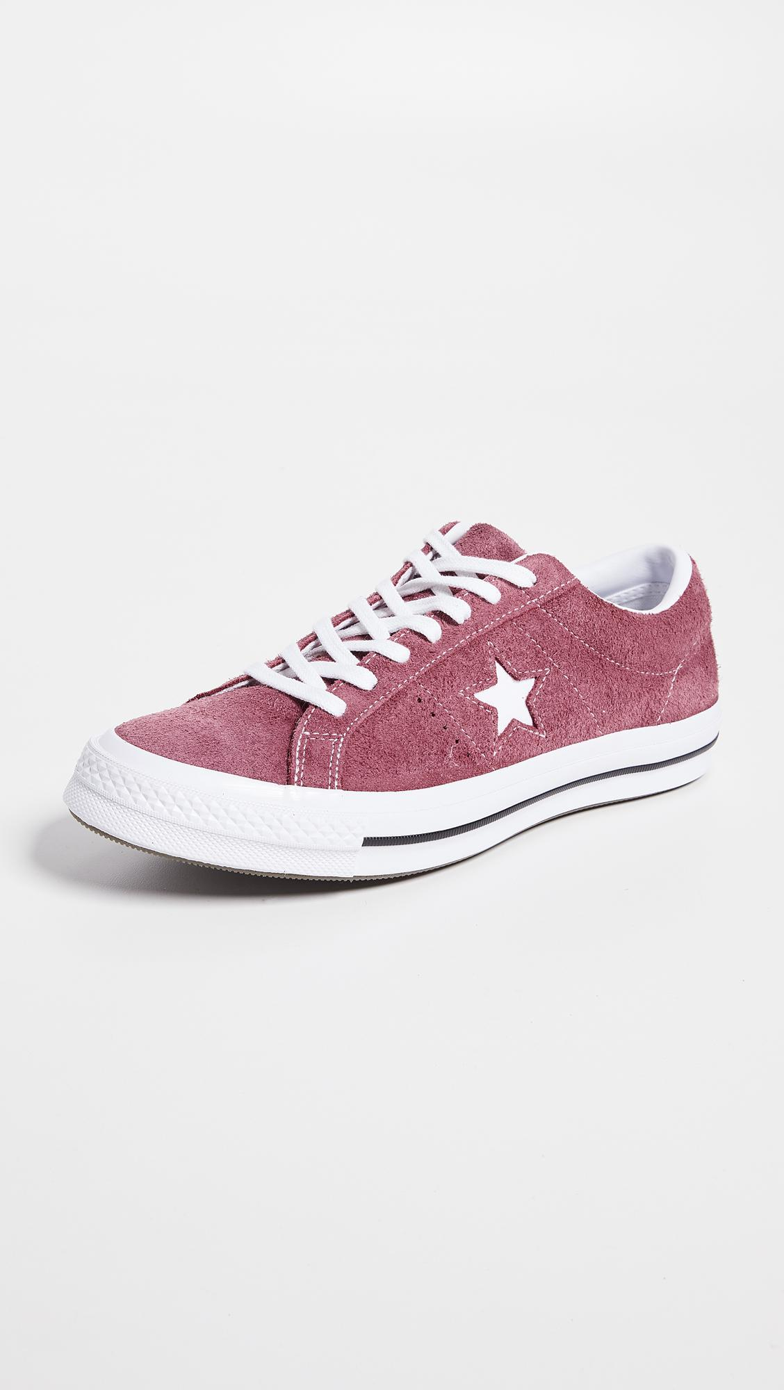 5954da443ba Converse One Star Suede Low Top Sneakers for Men - Lyst