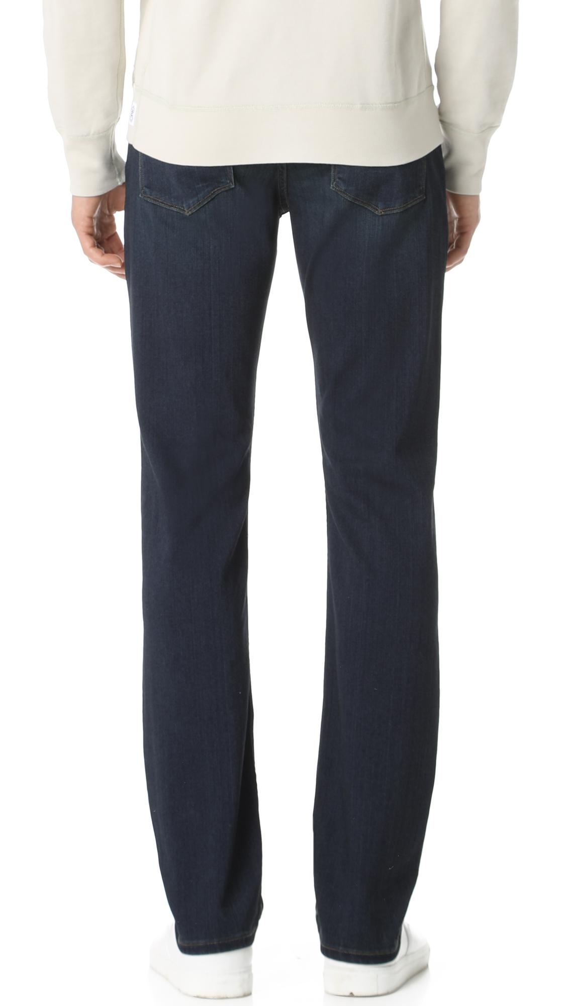 d30ca9fe66a Lyst - PAIGE Normandie Cellar Jeans in Blue for Men