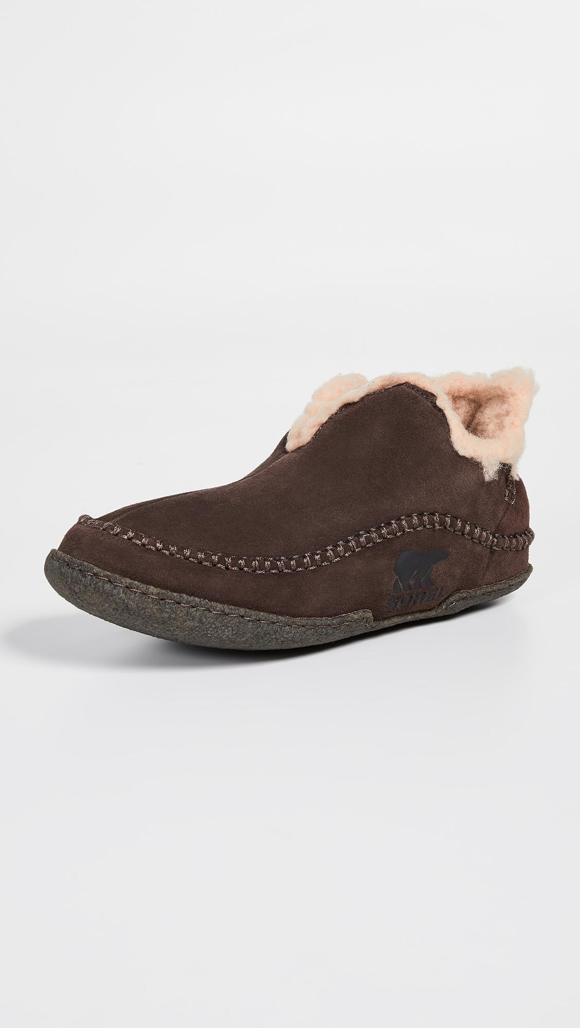 591a99315868 Sorel Manawan Slippers in Brown for Men - Lyst