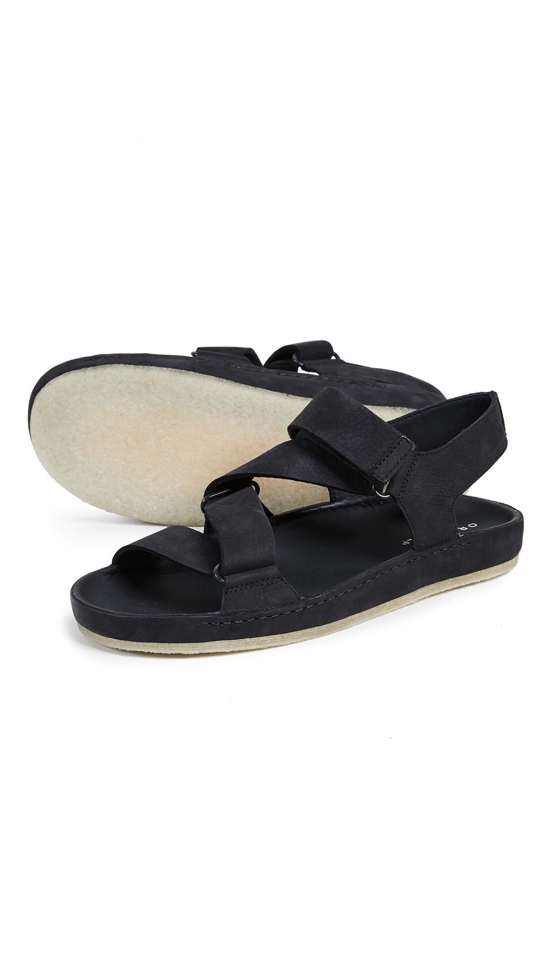 fadf7690e2db Lyst - Clarks Ranger Sandals in Black for Men