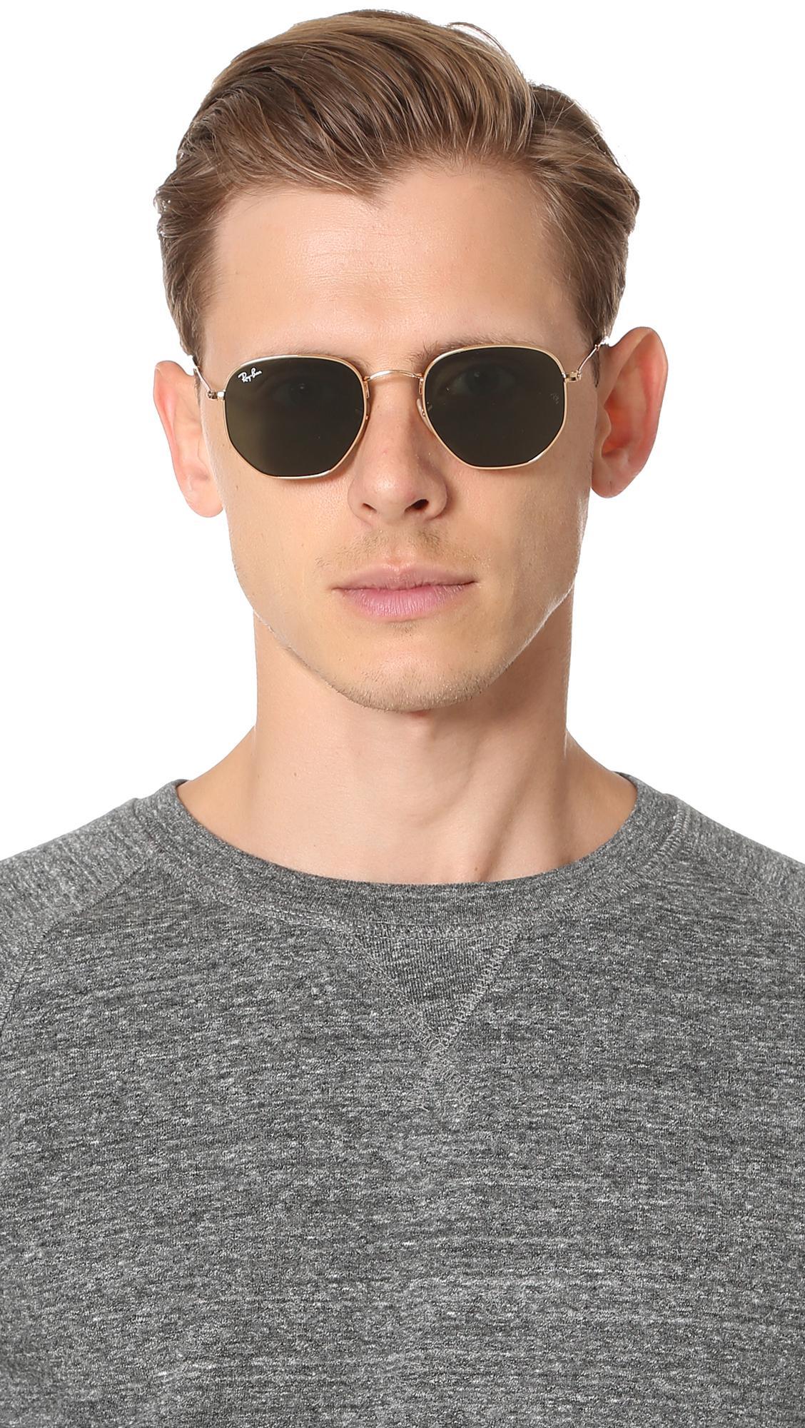 8adb8fb66b Ray-Ban Flat Lens Sunglasses for Men - Lyst