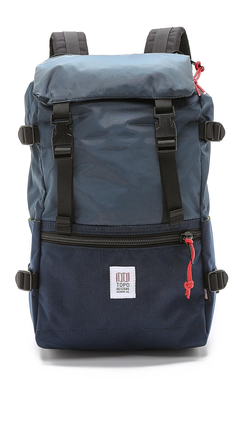 4c000b9187 Topo Designs Rover Pack (forest kelly) Backpack Bags in Blue for Men ...