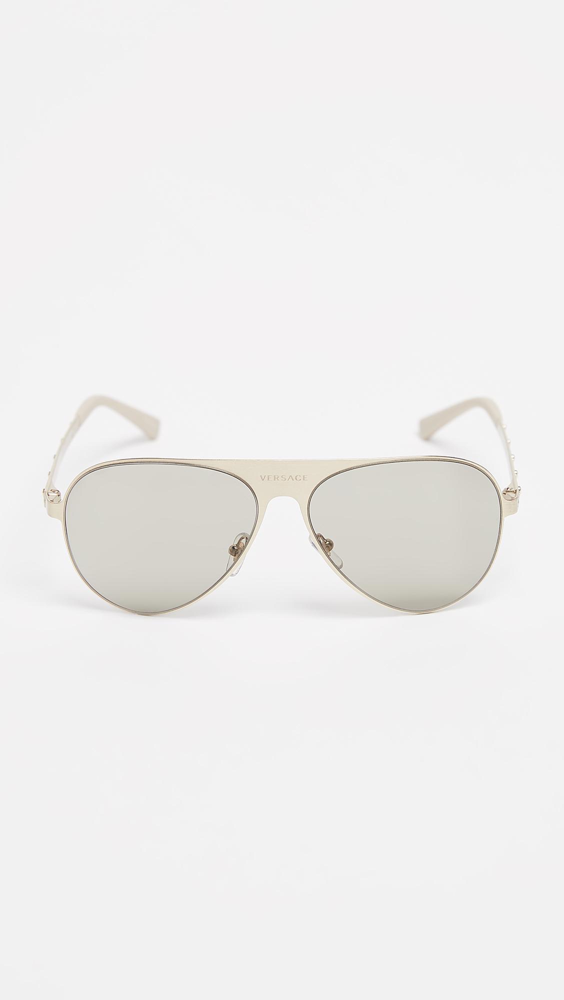 9c39e1ead8c32 Versace - Multicolor Medusina Pilot Sunglasses for Men - Lyst. View  fullscreen