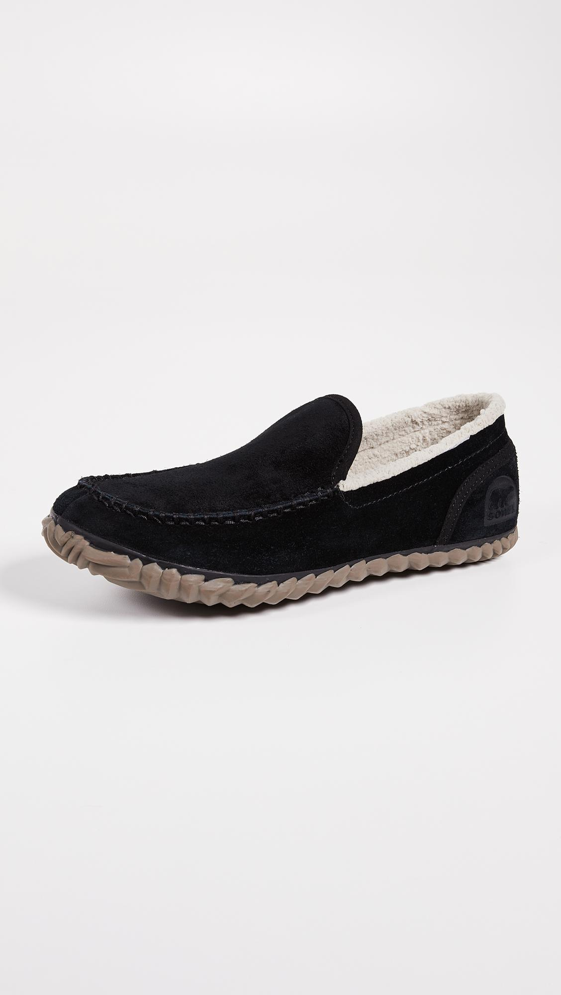 daa3a8bf854 Lyst - Sorel Dude Moccasins in Black for Men - Save 33%