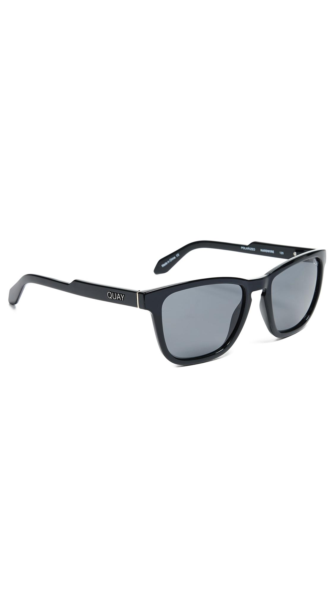 3af3071ebf Quay Hardwire Sunglasses in Black for Men - Lyst