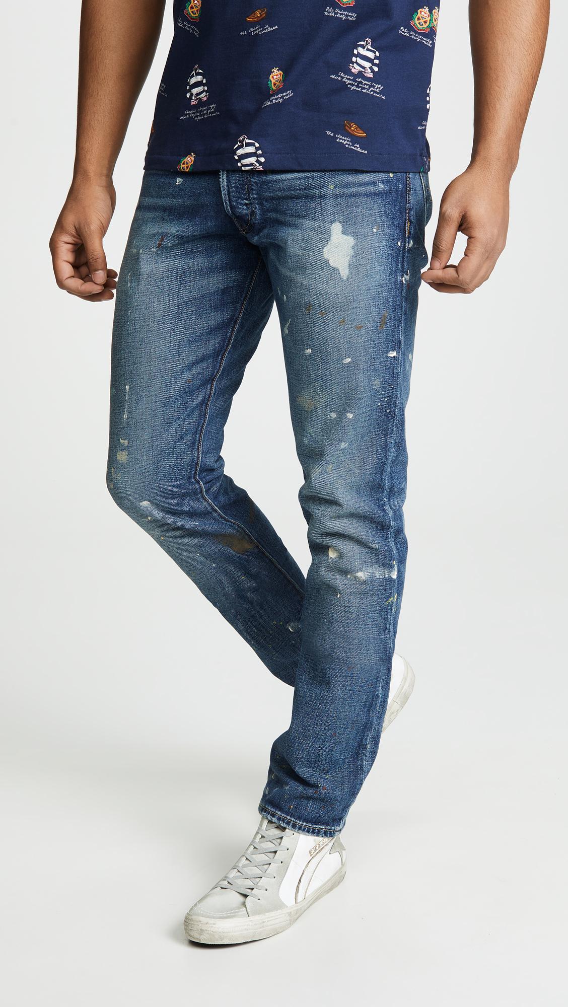 5d554b66e Lyst - Polo Ralph Lauren Sullivan Slim Stretch Jeans in Blue for Men