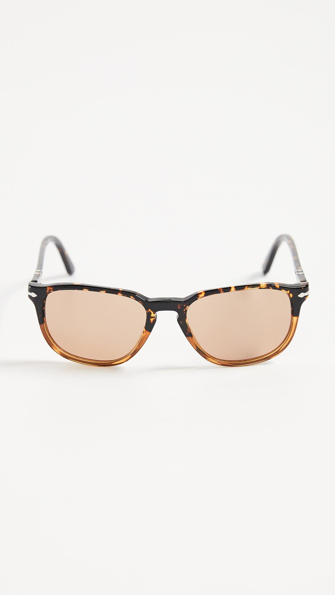 9bd8e41767429 Lyst - Persol Gradient Tortoise Sunglasses in Brown for Men