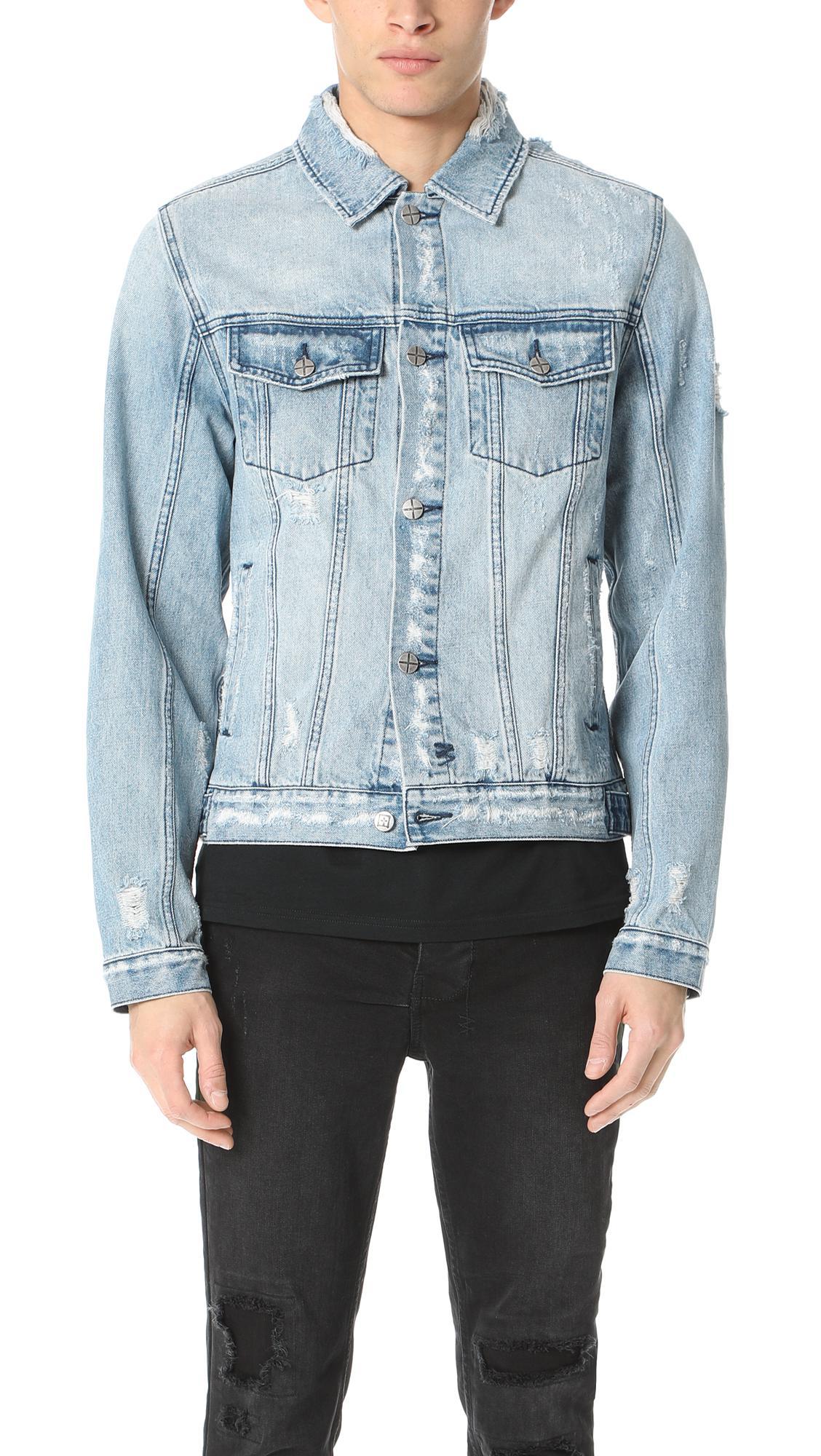 ce99317632 Lyst - Ksubi Classic Denim Jacket in Blue for Men - Save 37%