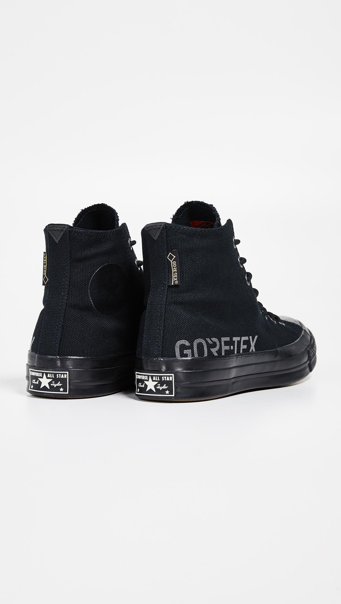 f9a8ff2771b Converse Chuck 70 Goretex Waterproof High Top Sneakers in Black for ...