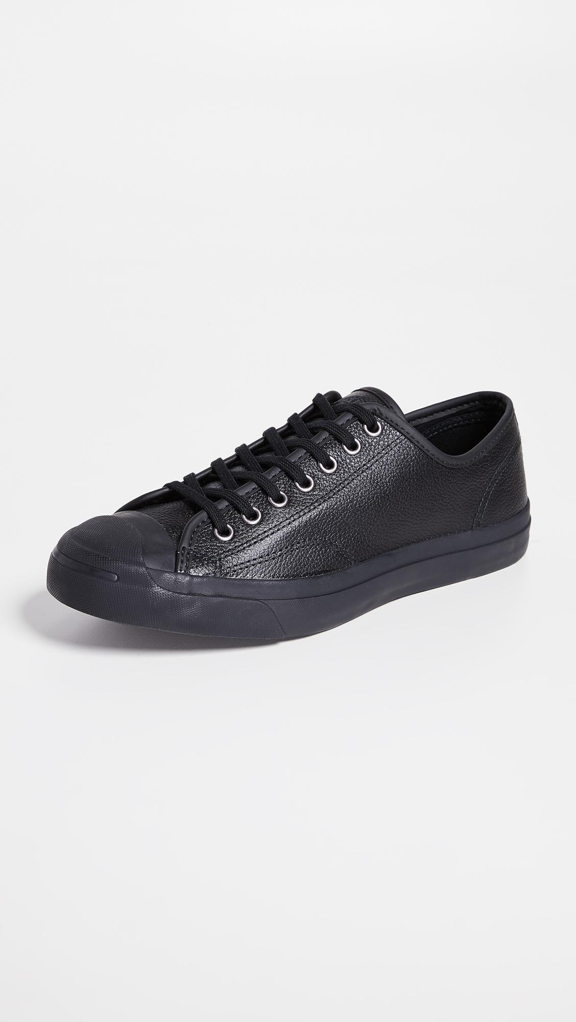 666f609438b3 Lyst - Converse Jack Purcell Low Top Sneakers in Black for Men