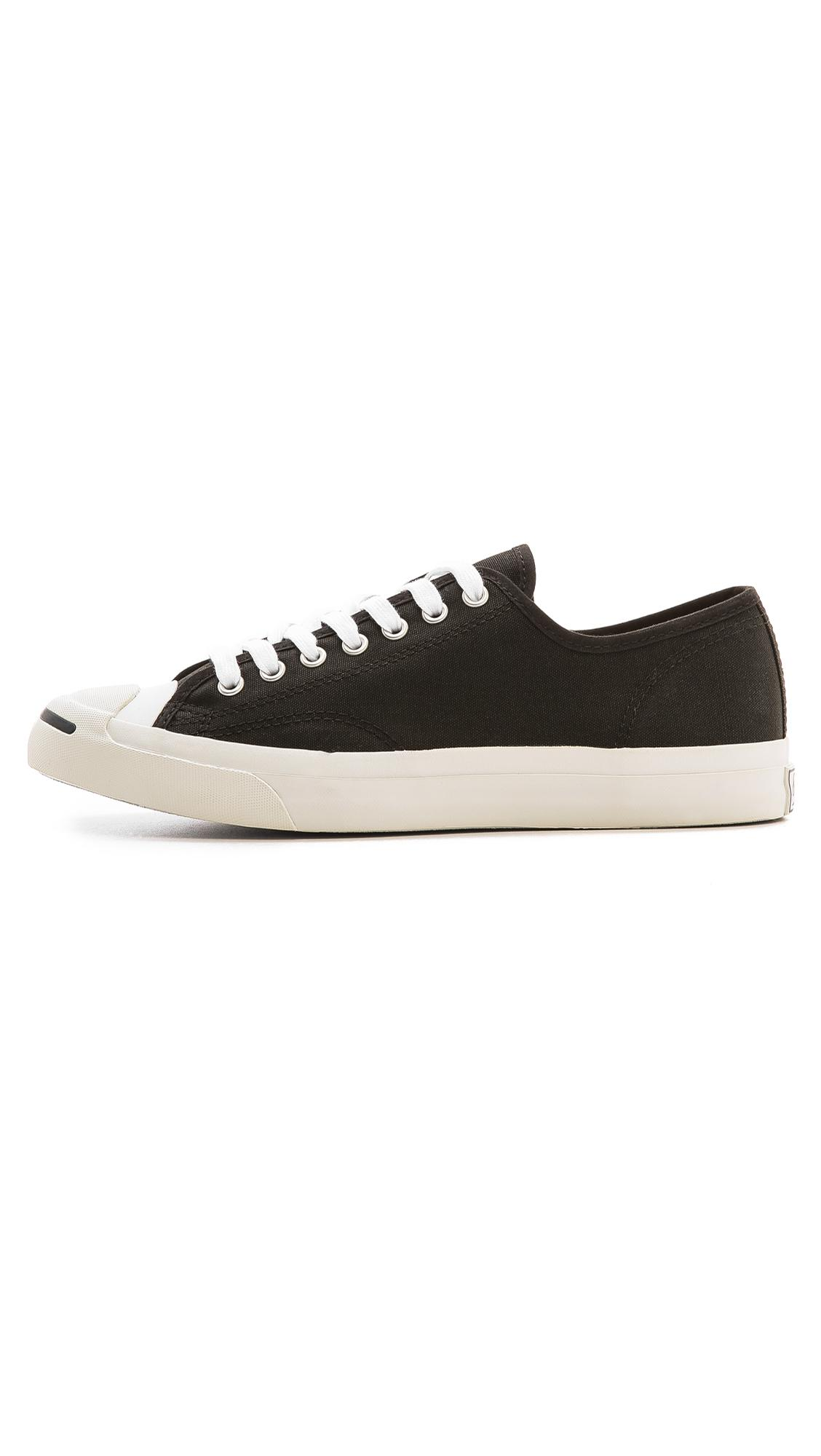 ce74acdc2b44 Converse - Black Jack Purcell Canvas Sneakers for Men - Lyst. View  fullscreen