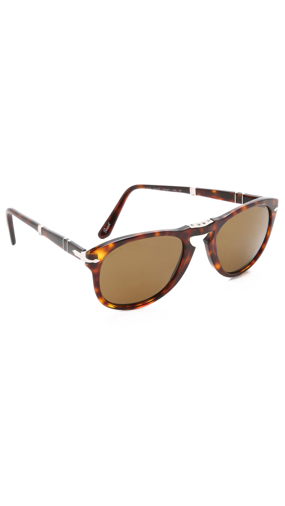b2979c0a96 Persol Folding Classic Sunglasses in Brown for Men - Lyst