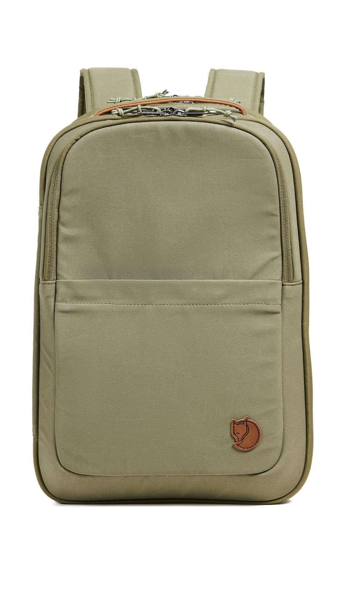 c375af72514f Fjallraven Travel Pack Small Bag in Green for Men - Lyst