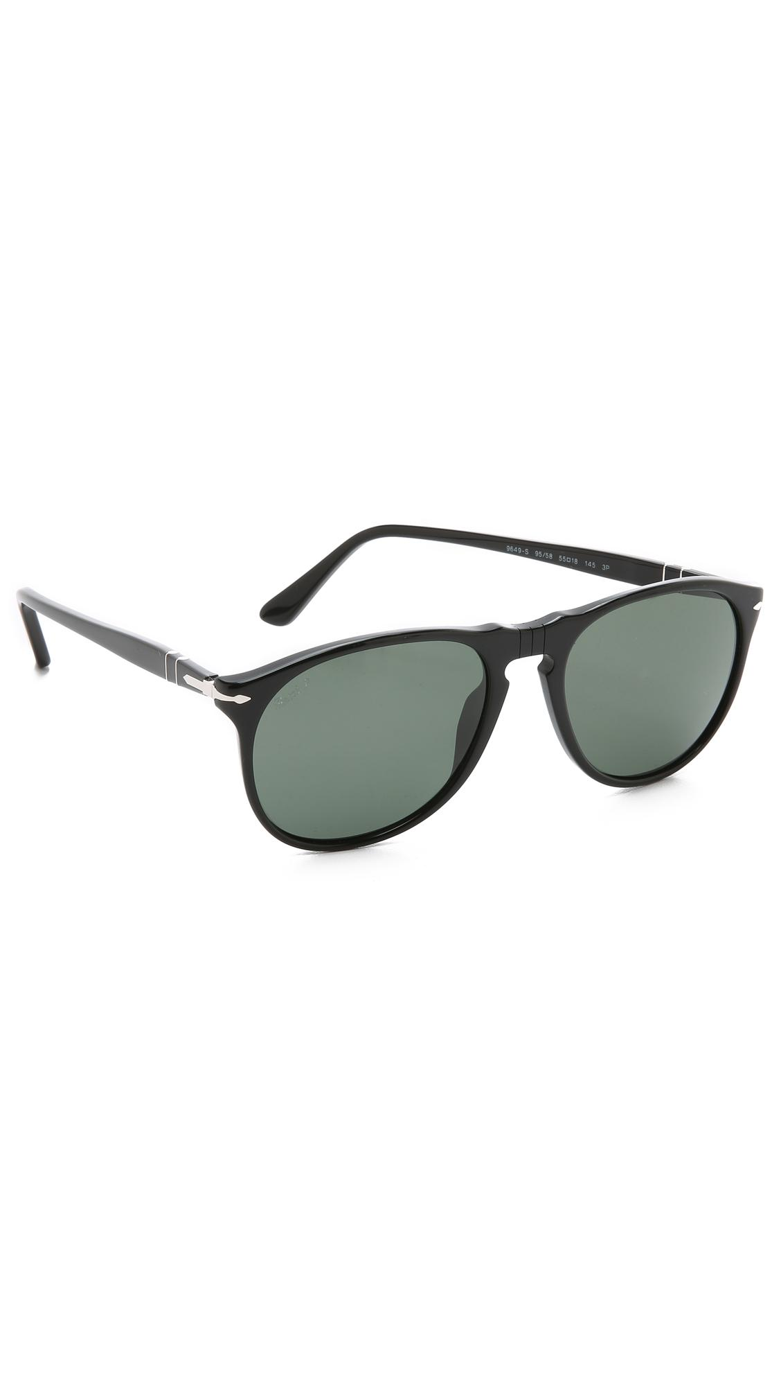 ac4d200cba Persol Polarized Classic Sunglasses in Black for Men - Lyst