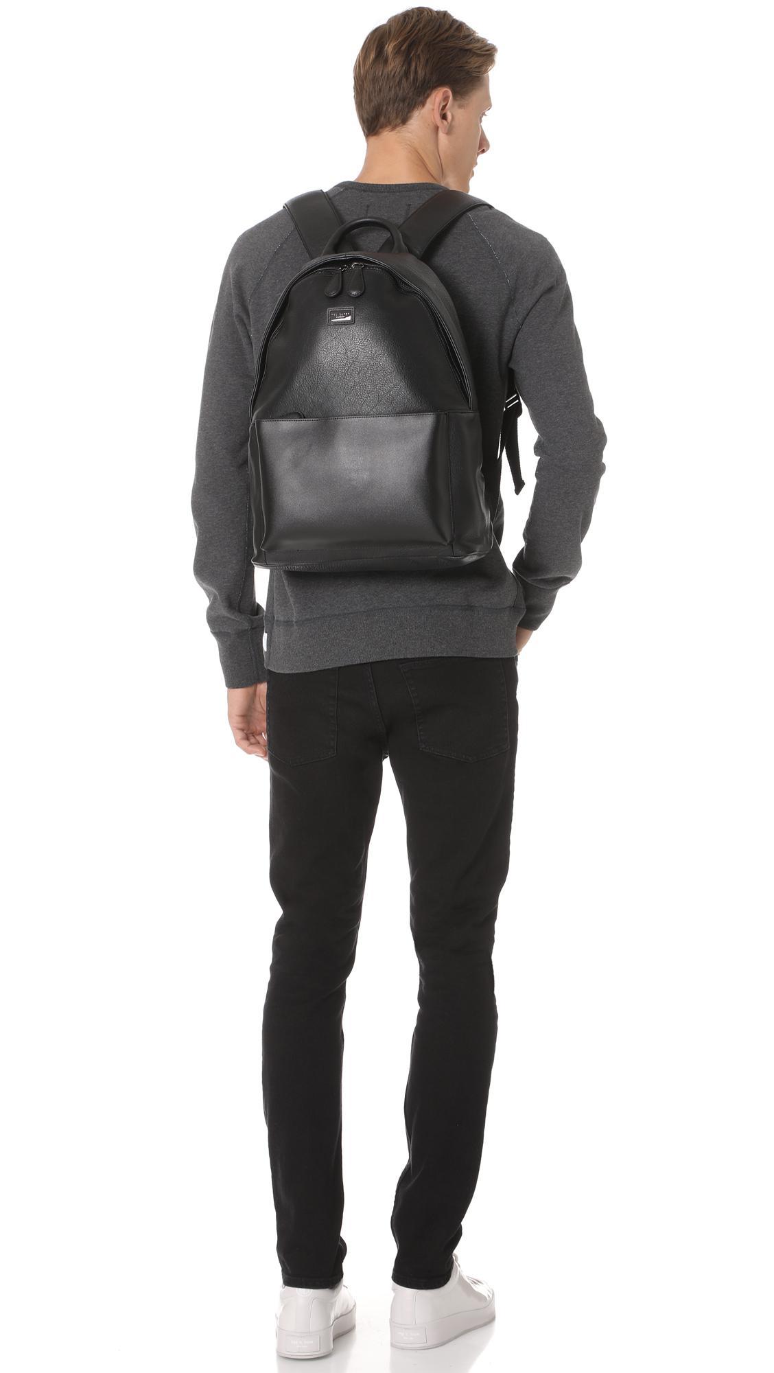 132882cfc0ea6 Lyst - Ted Baker Panthr Backpack in Black for Men
