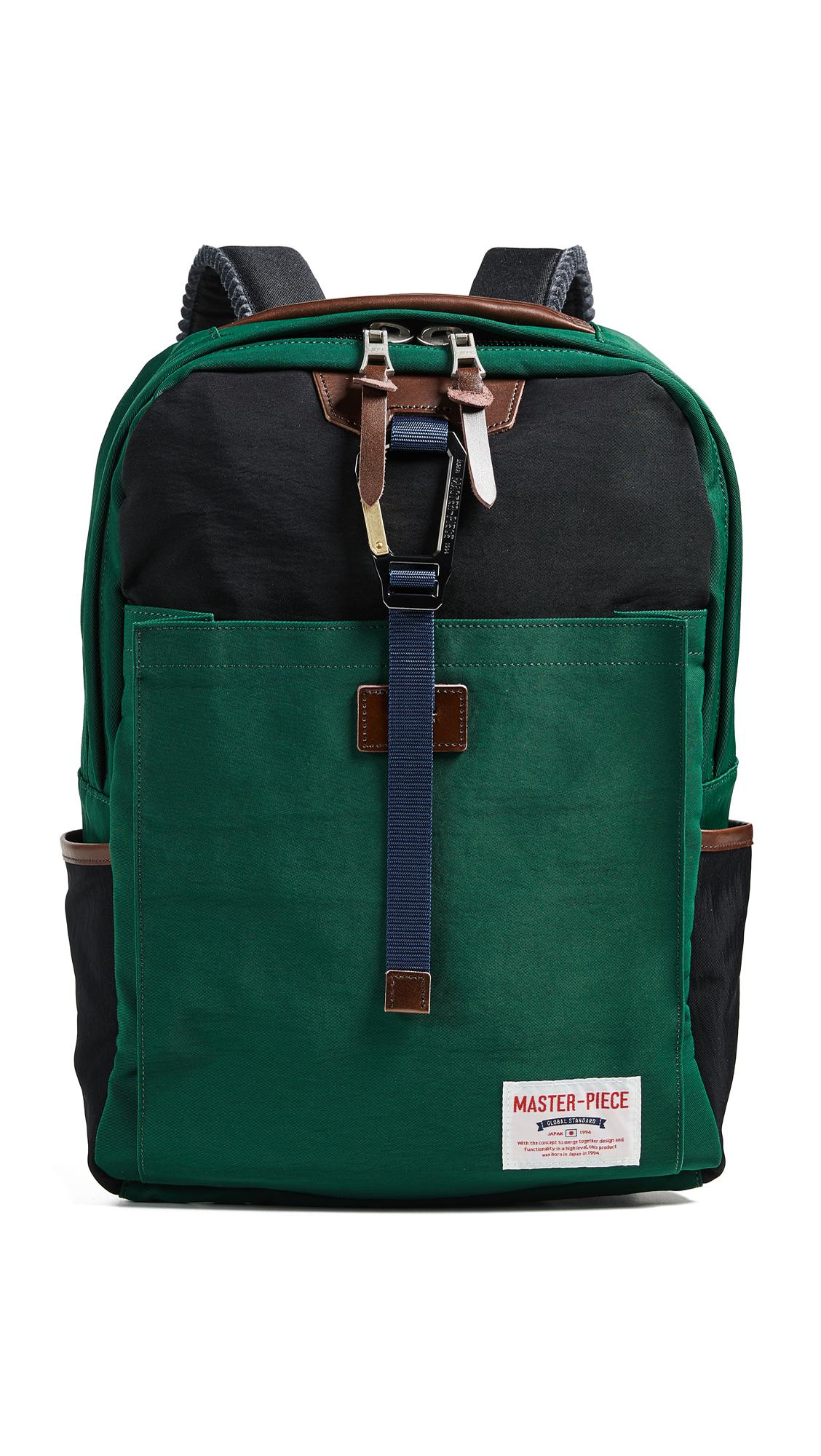 Master Piece Link Backpack in Green for Men - Lyst