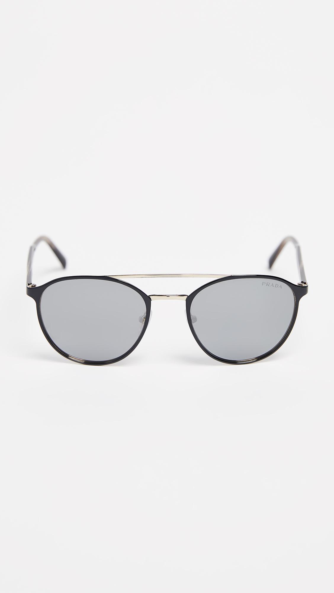 prada 0pr 62ts sunglasses in gray for men lyst LSU Sunglass Case view fullscreen