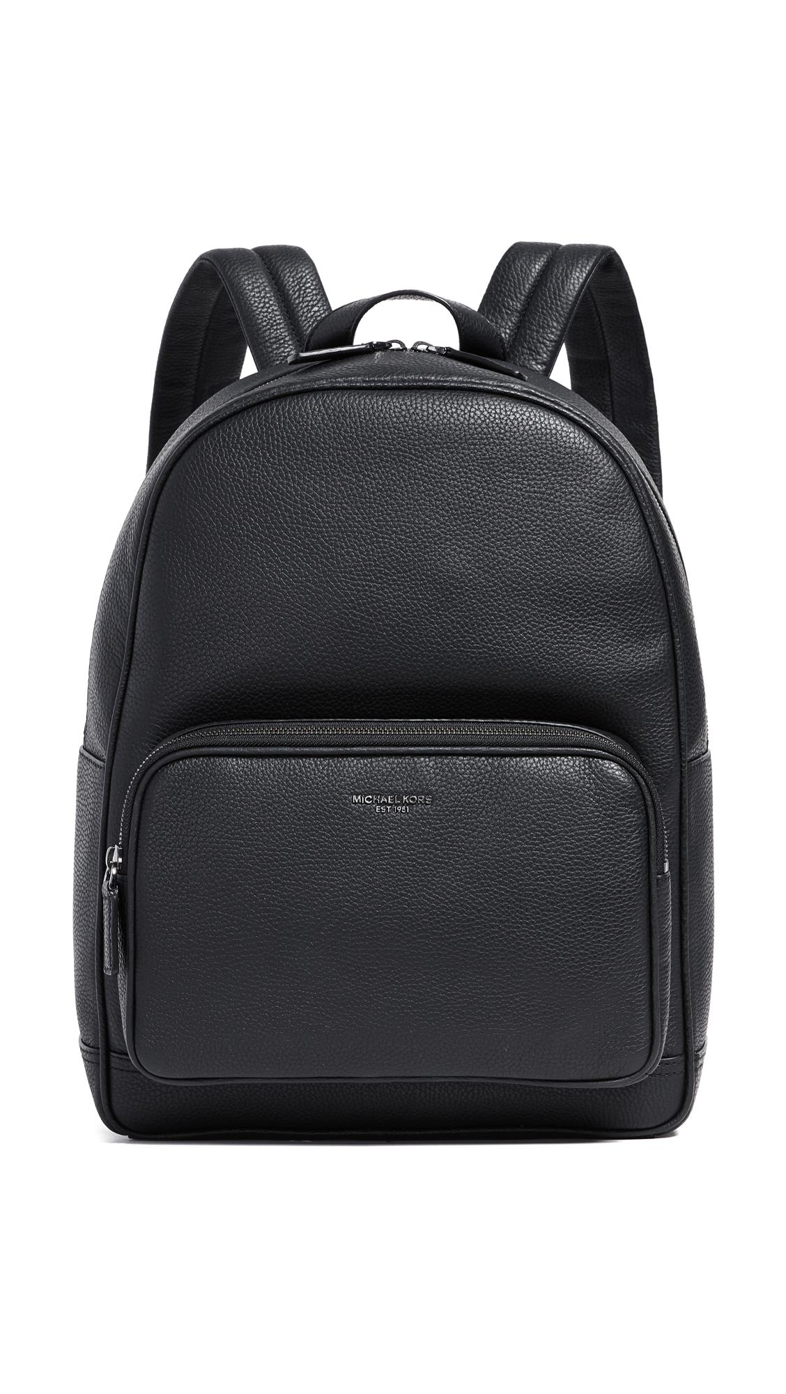 eb50ecd101e8 Lyst - Michael Kors Bryant Pebble Backpack in Black for Men